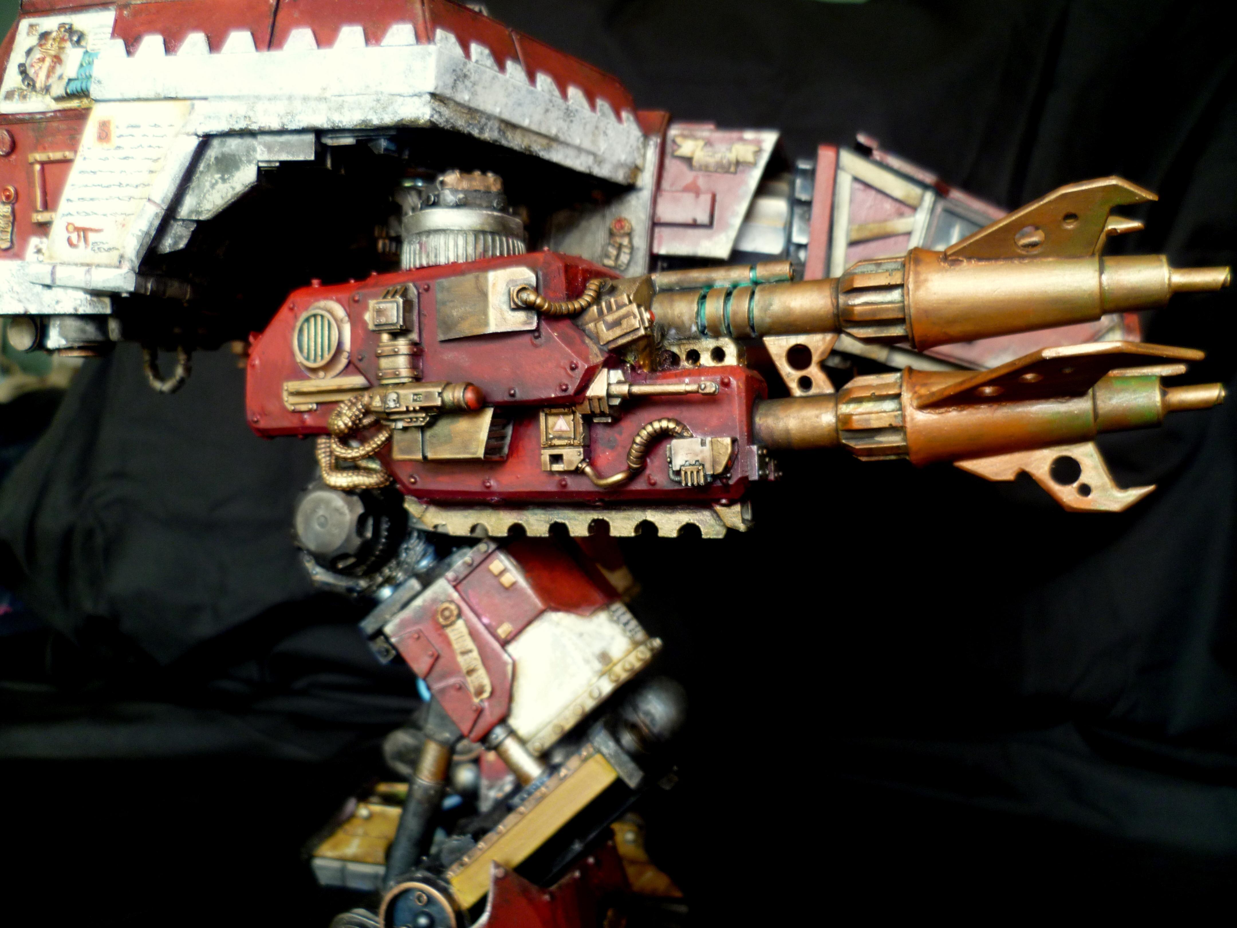 Legio Atarus, Scratch Build, Titan, Warhound