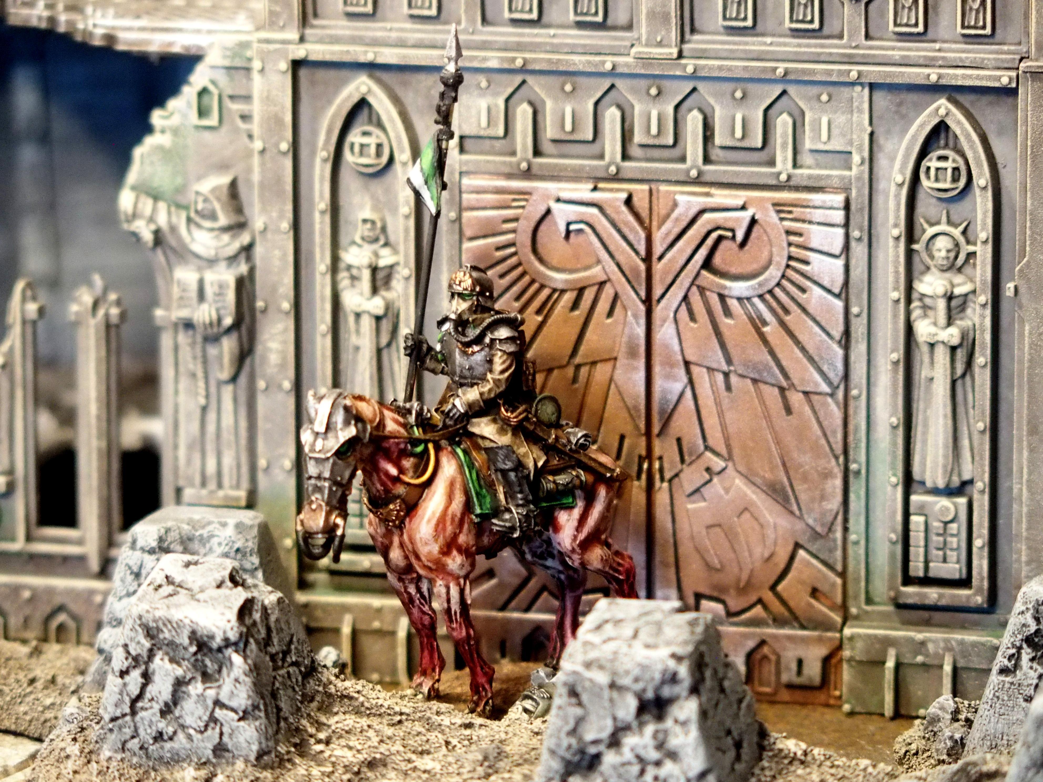 Astra Militarum, Death Korps of Krieg, Death Rider, Grimdark, Guard, Imperial Guard
