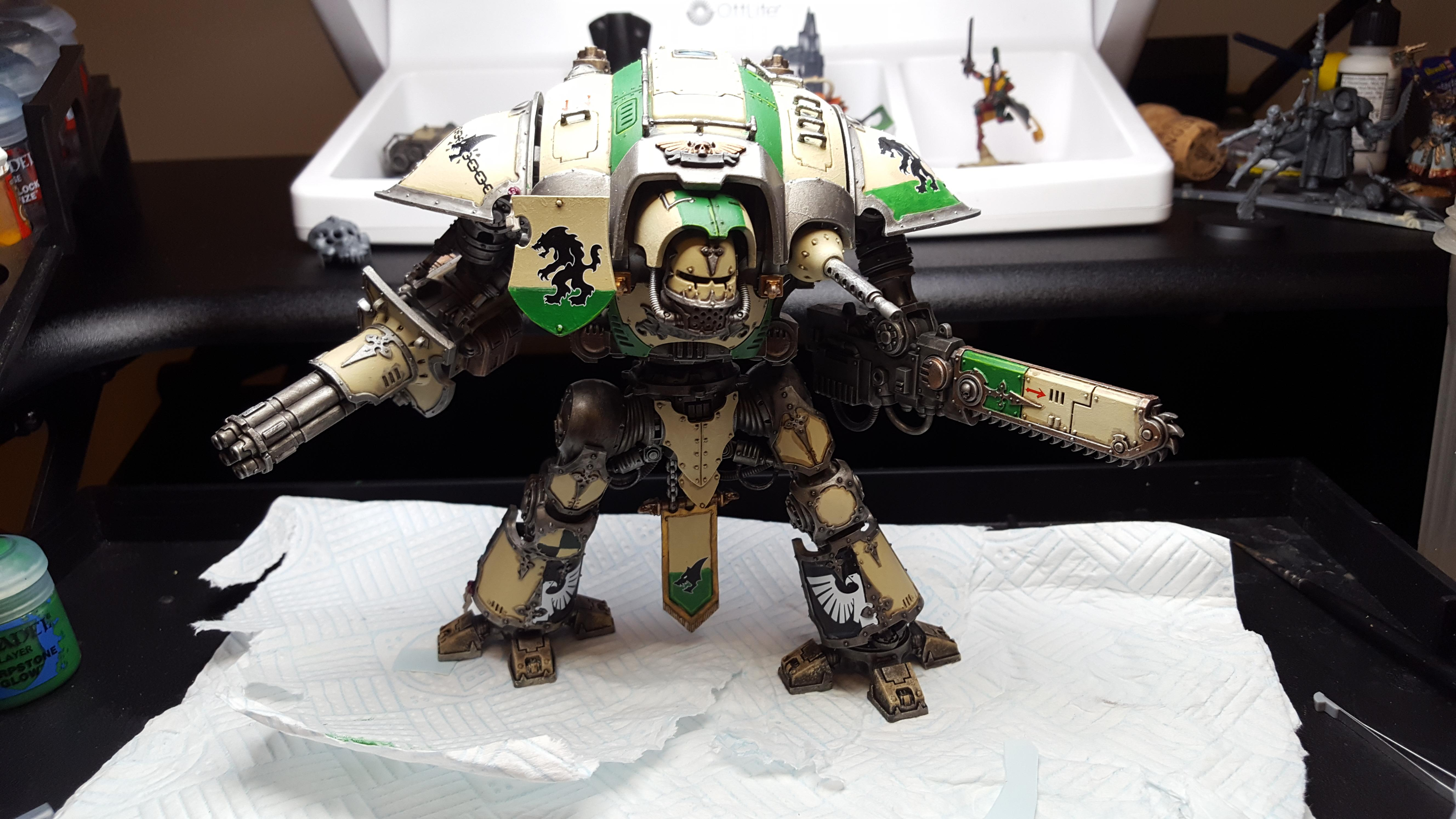 Imperial Knight WIP