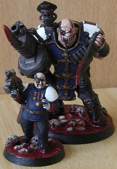 Imperial Guard, Nork Dedddog, Officer, Ogryns