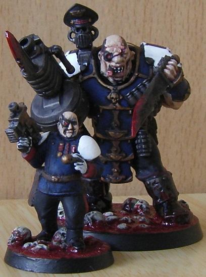 Imperial Guard, Nork Deddog, Officer, Ogryns