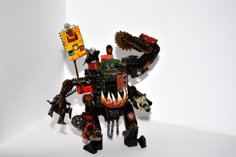 Custom, Deff Dread, Killa Kan, Orks, Warhammer 40,000