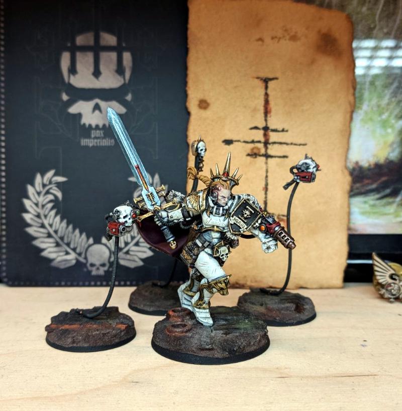 Female, Inq28, Inquisitor, Ordo Malleus, Servo Skulls, Sigmarines, Stormcast, Warhammer 40,000