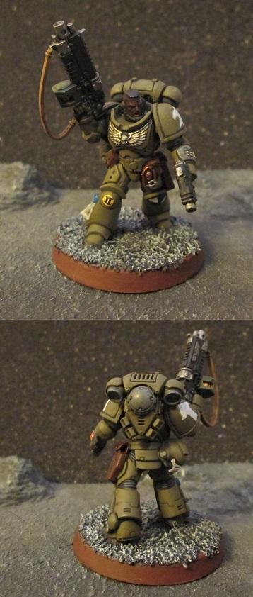 Leiutenant, Primaris, Raptors, Space Marines