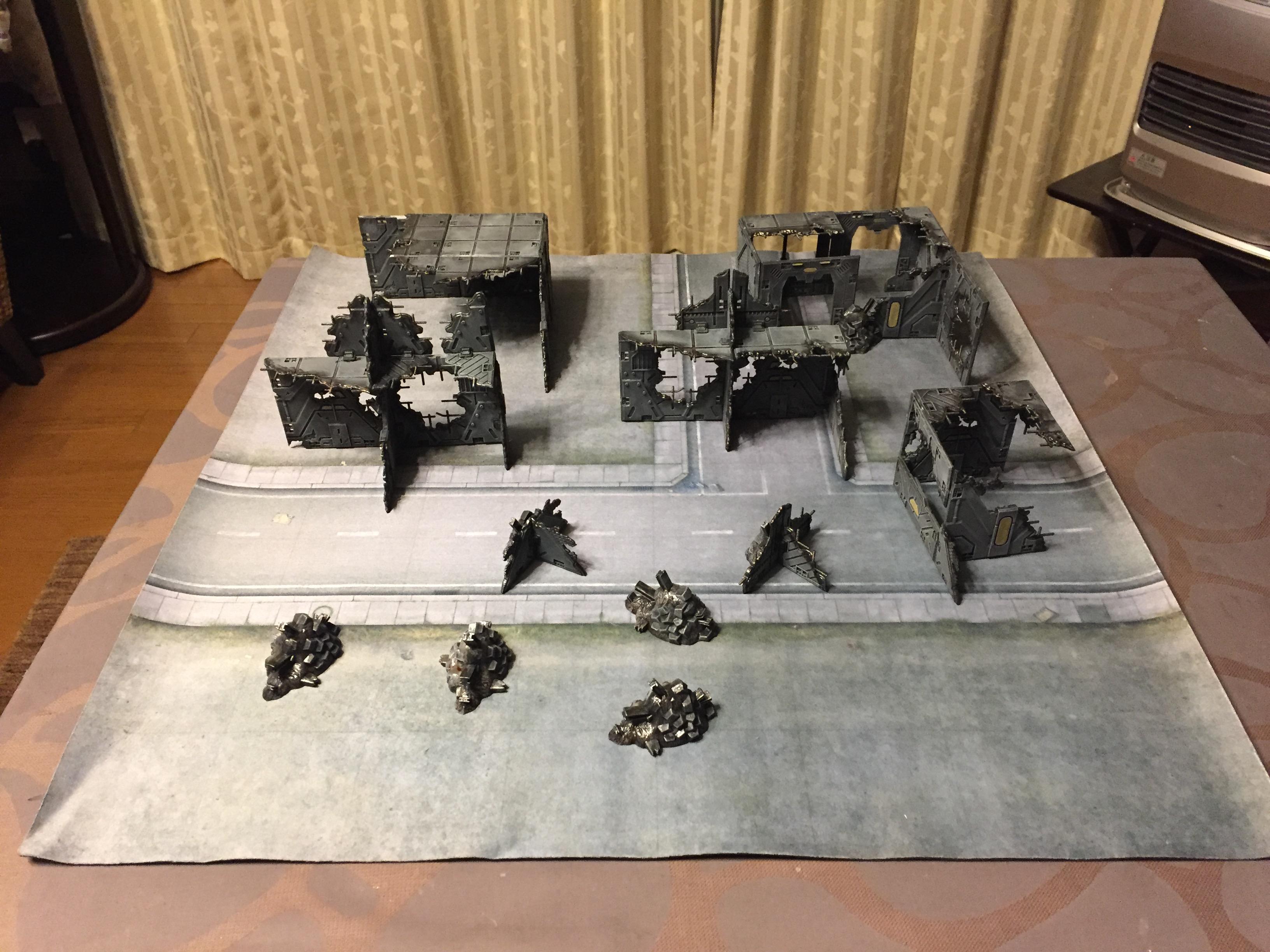 Battlezone. Battlezones, Buildings, Deadzone, January 2018, Mantic, Ruins, Terrain