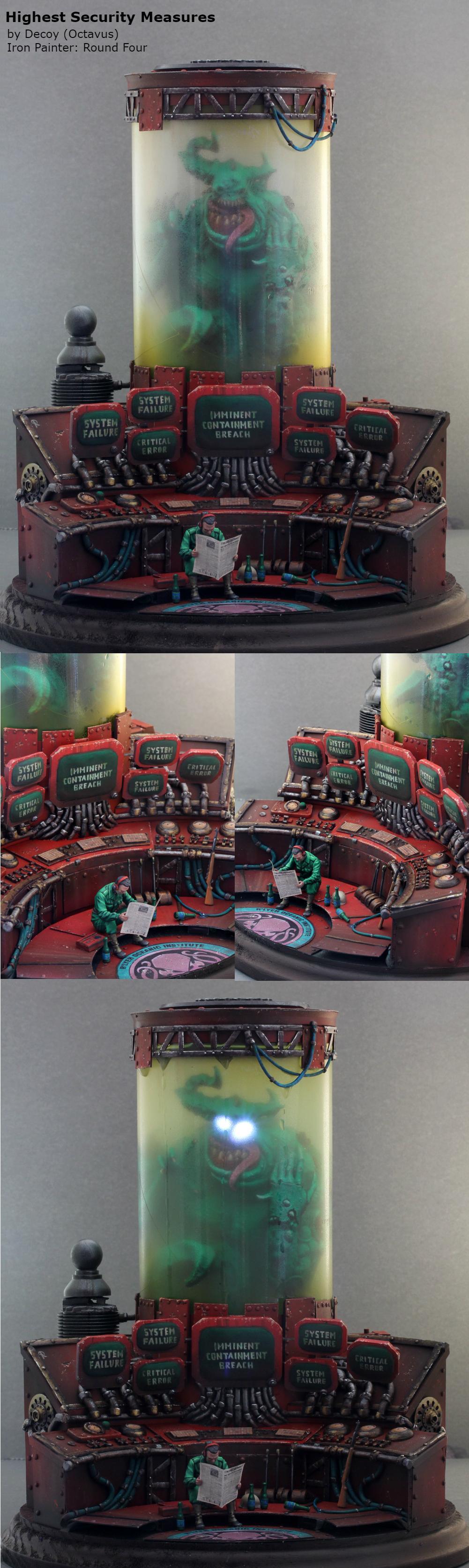 Competition, Iron Painter, Kingdom Death, Warhammer Fantasy