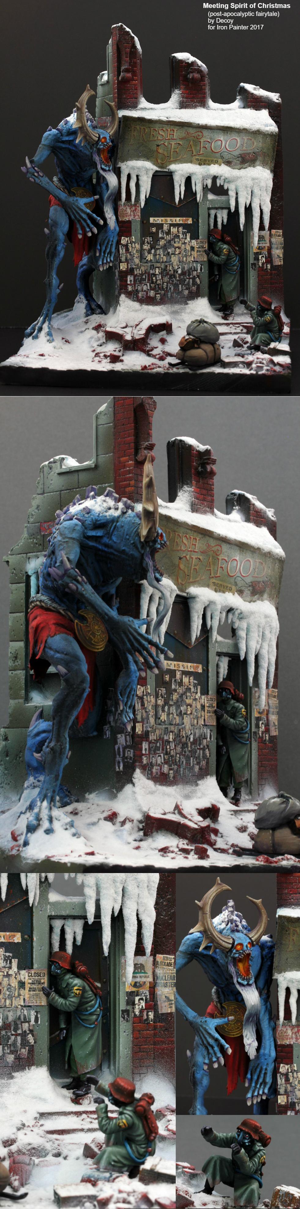 Competition, Diorama, Iron Painter, Kingdom Death, Warhammer Fantasy