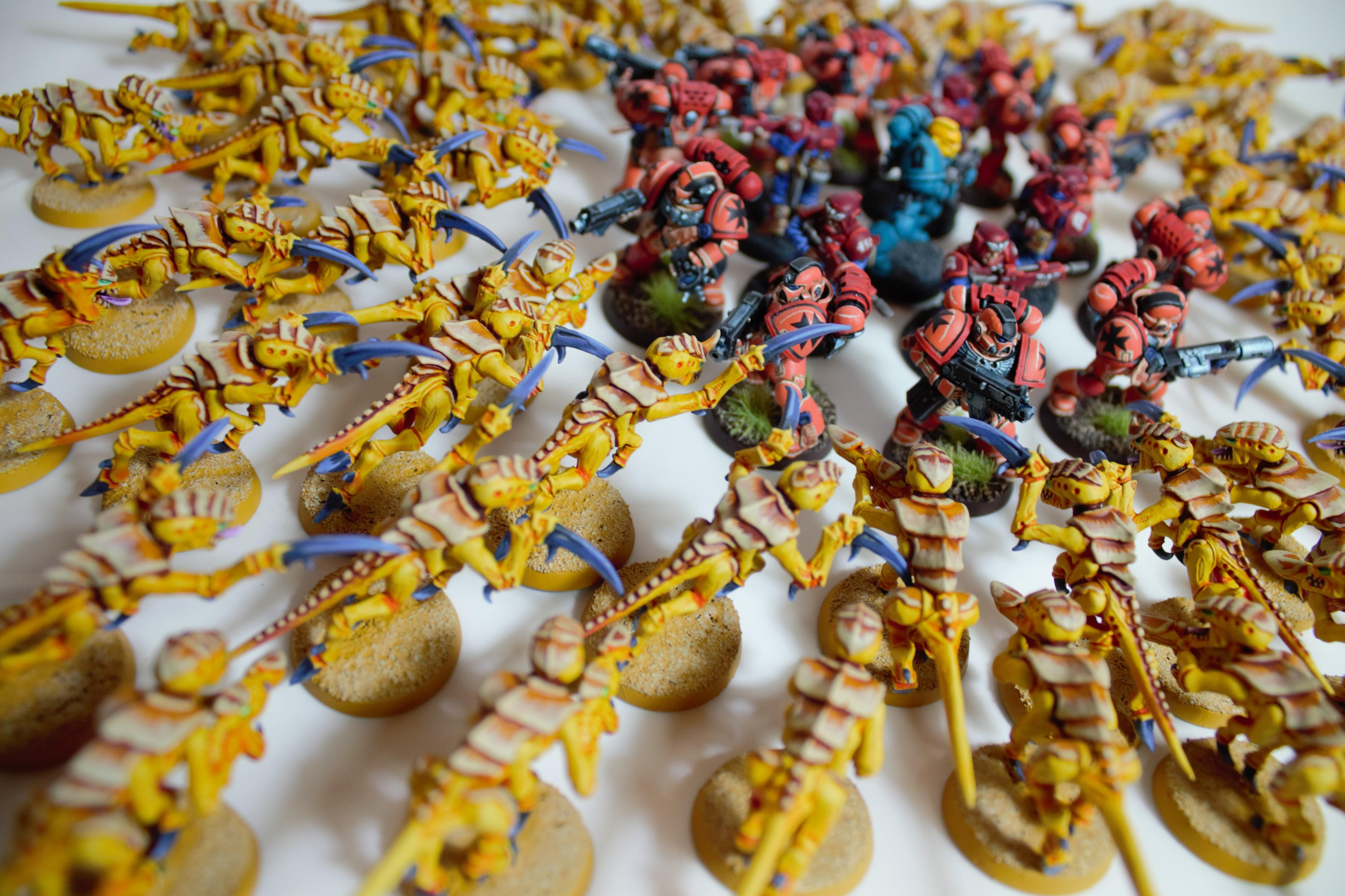 Astra Militarum, Last Stand, Space Marines, Tyranids, Warhammer 40,000