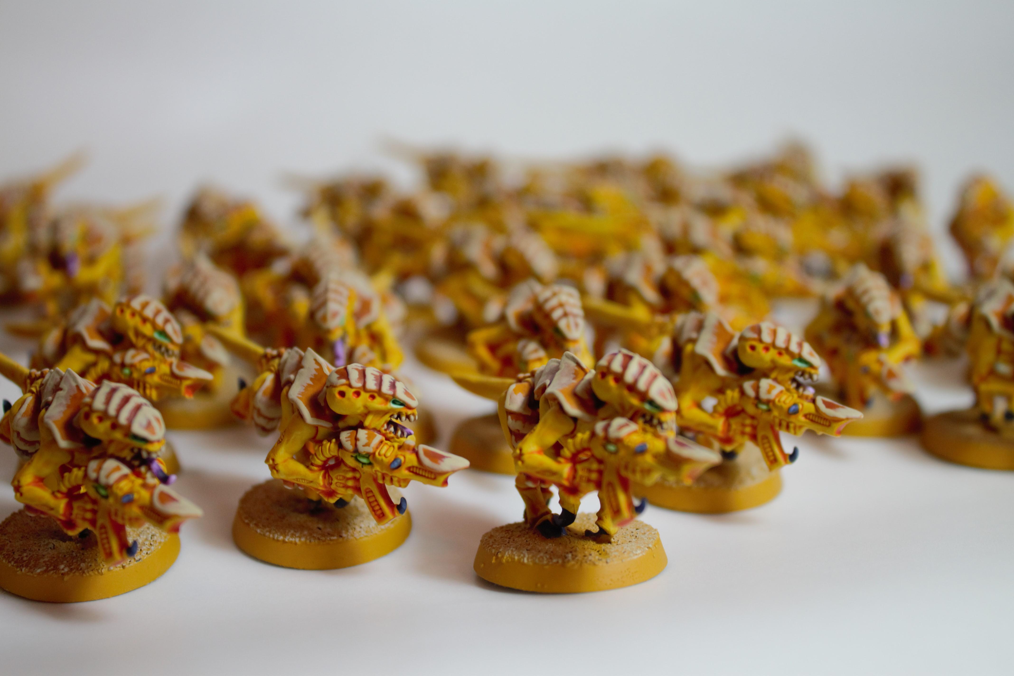 Mastodon, Termagants, Tyranids, Yellow