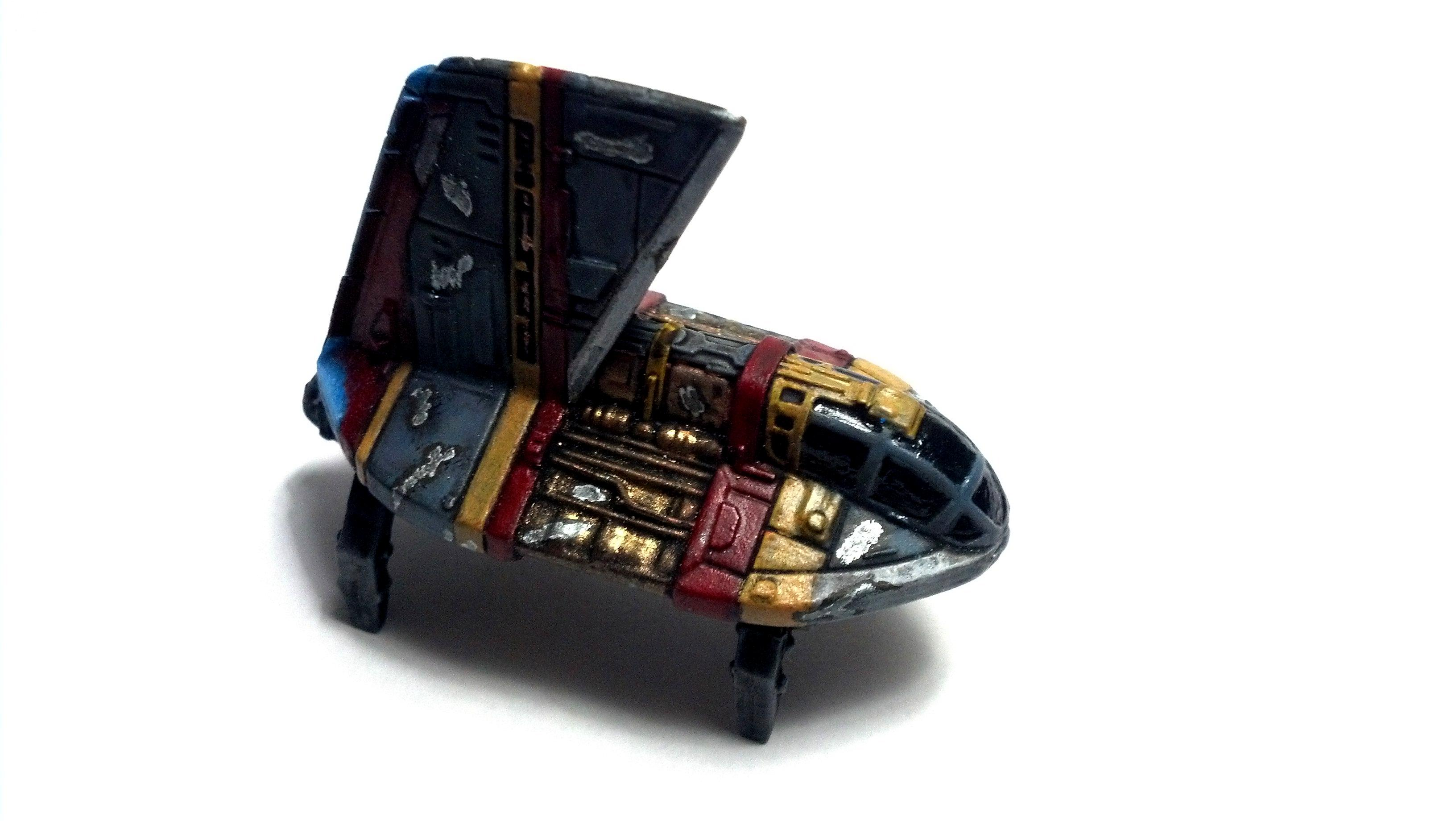 1/270, 1:270, Long Range, Miniature, Modification, Neimoidian Shuttle, Refueler, Star Wars, X-wing Miniature Board Game