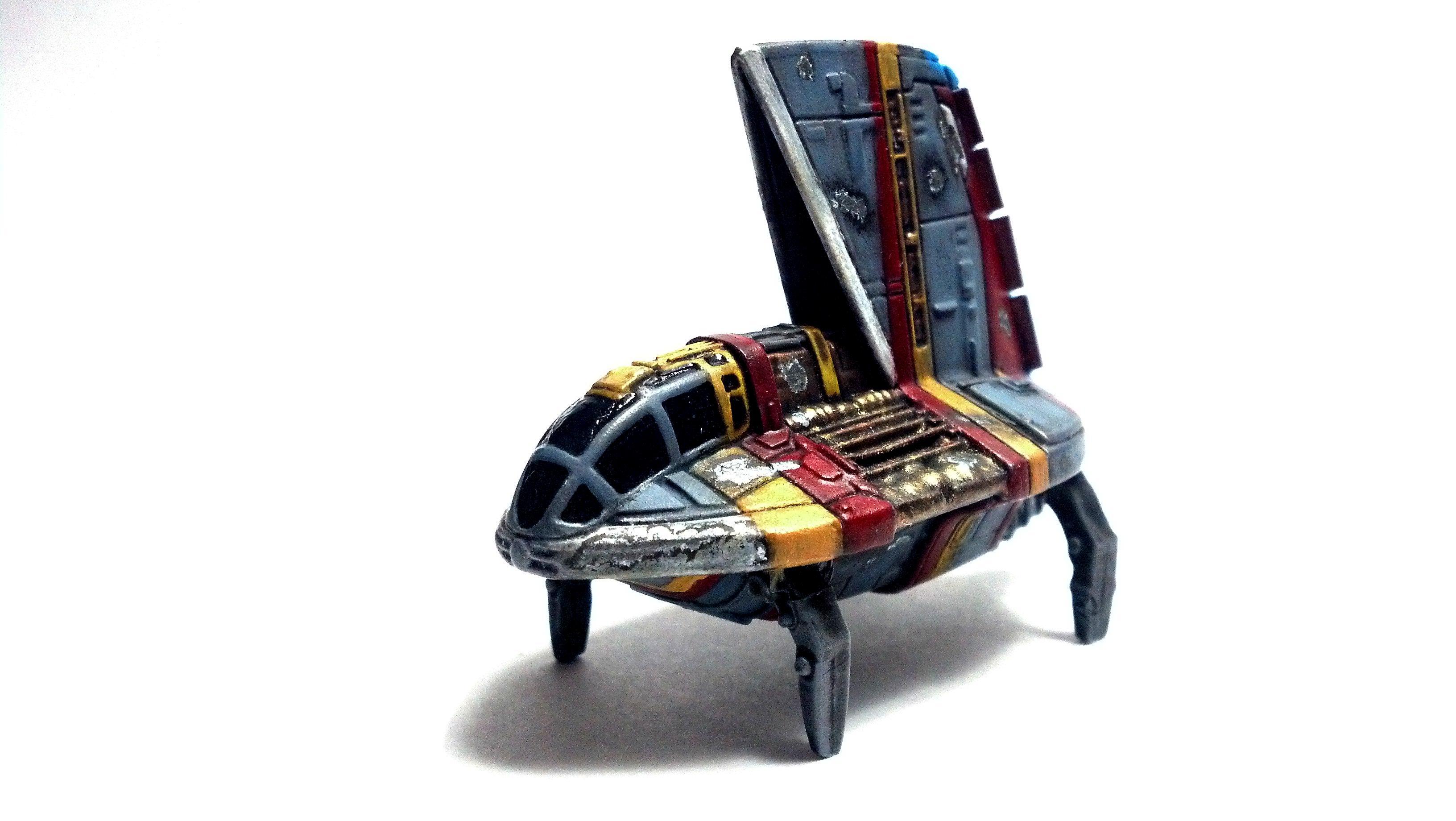 1/270, 1:270, Long Range, Miniature, Modification, Neimoidian Shuttle, Refueler, Star Wars, X-wing Miniature Board Game