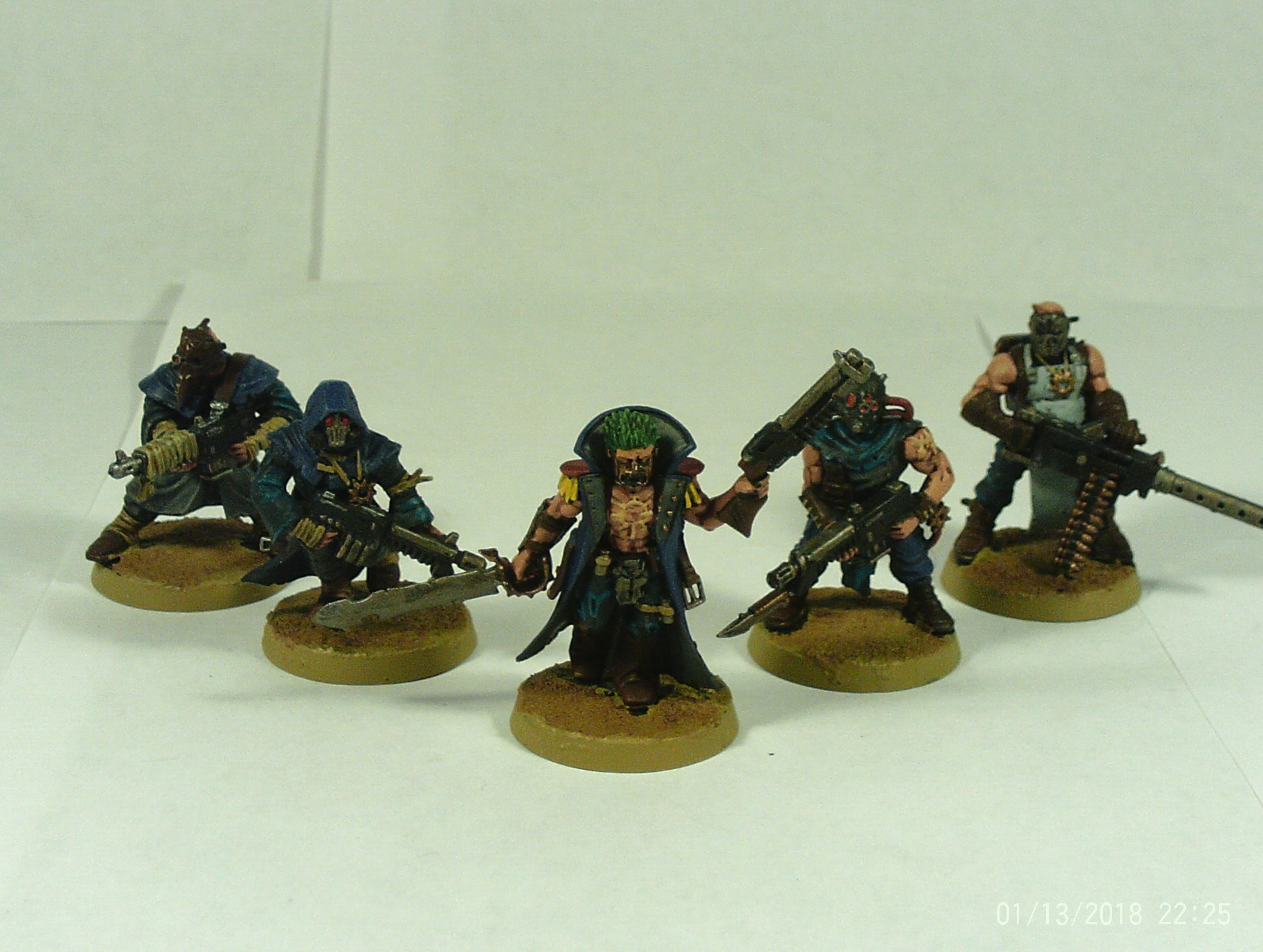 Alpha, Autogun, Chaos, Cultists, Fanatics, Human, Legion, Mob