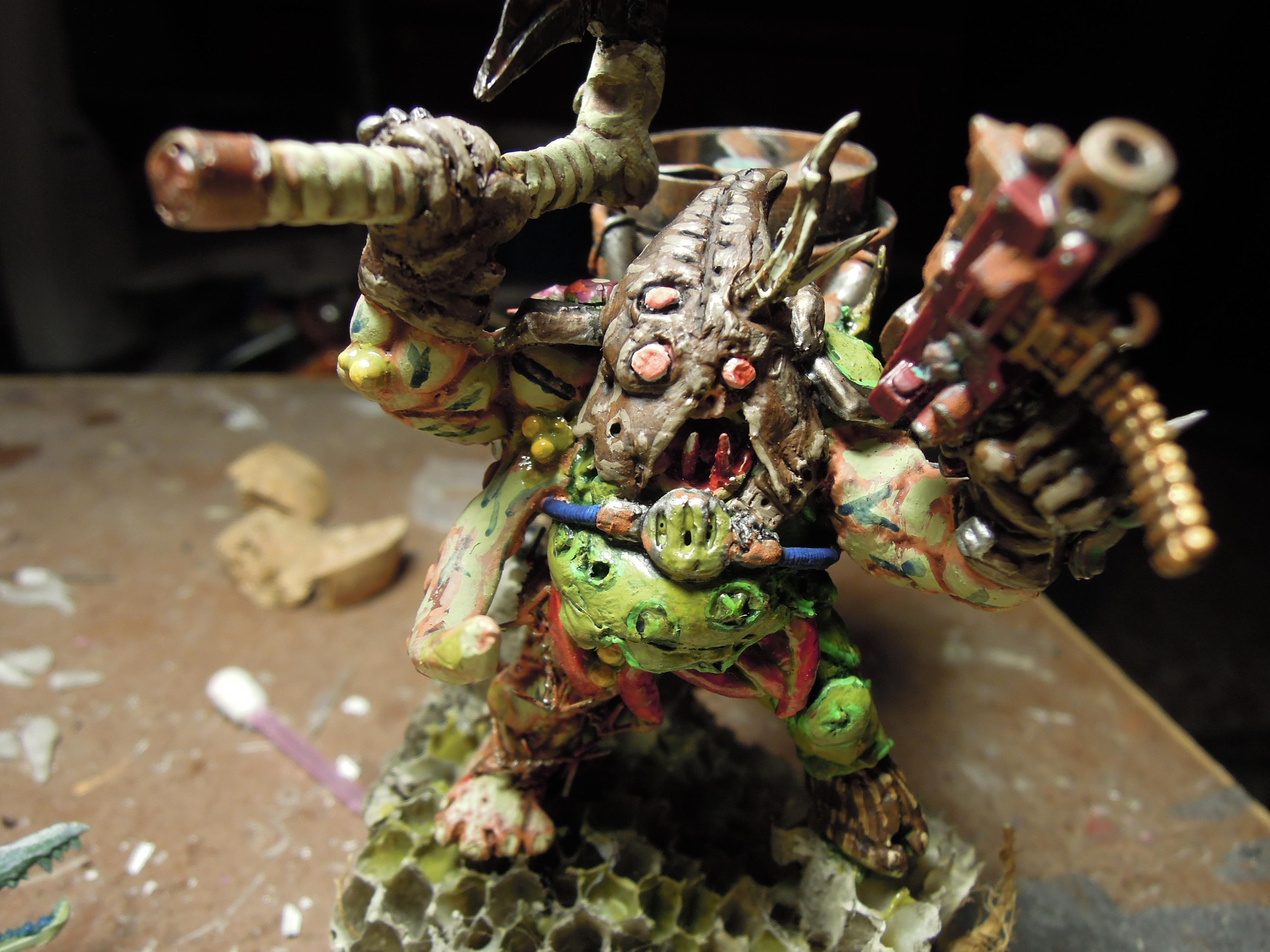 Axe, Blight, Chaos, Conversion, Daemon Prince, Death Guard, Guts, Heavy Bolter, Hood, Jetpack, Jumppack, Nurgle, Plague, Poleaxe, Rot, Scratch Build, Technolog, Tehnolog