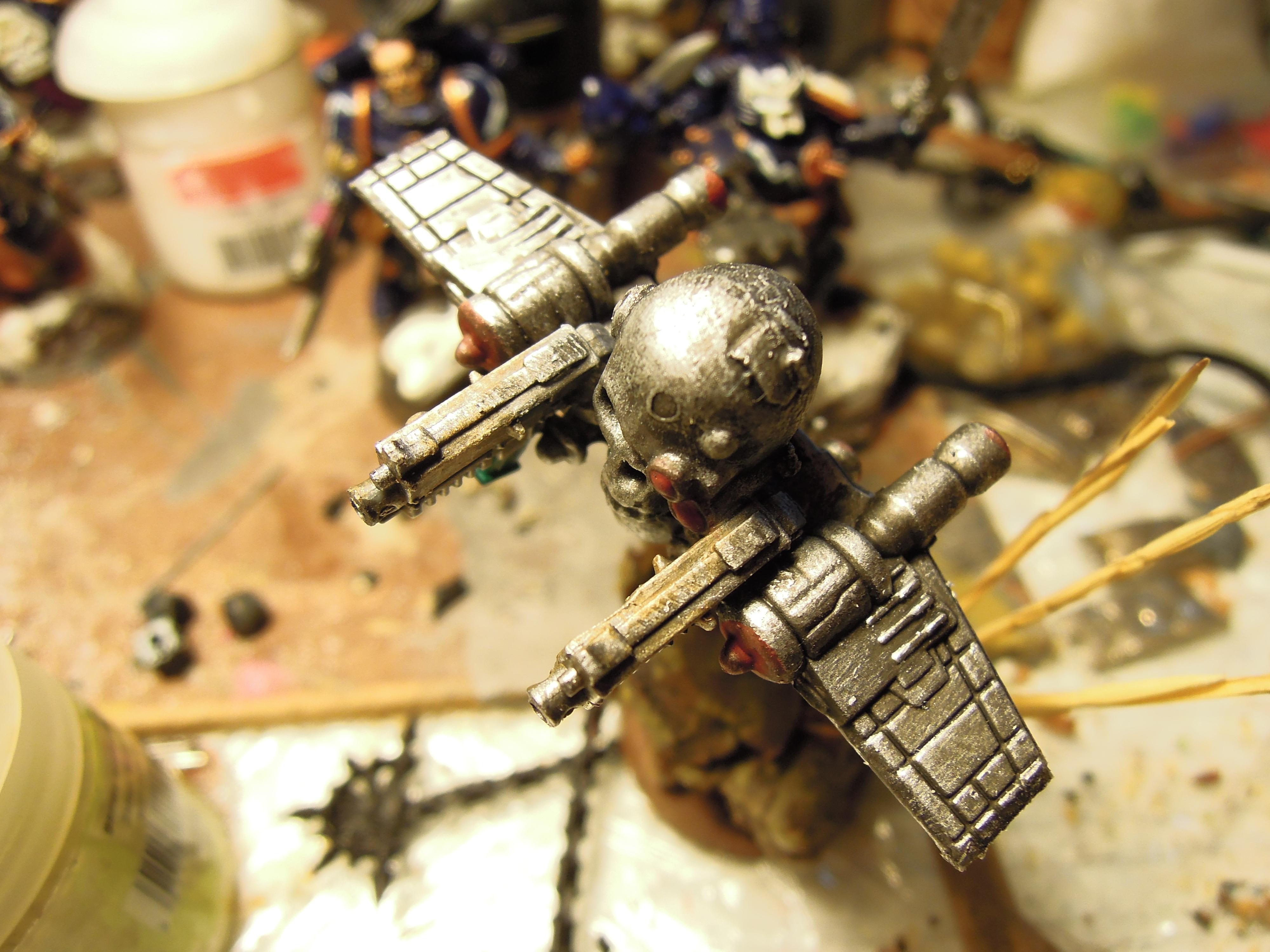 Admech, Chaos, Conversion, Cyborg, Dark Mechanicus, Heresy, Kitbash, Retinue, Scratch Build, Servitors, Strogg, Warhammer 40,000