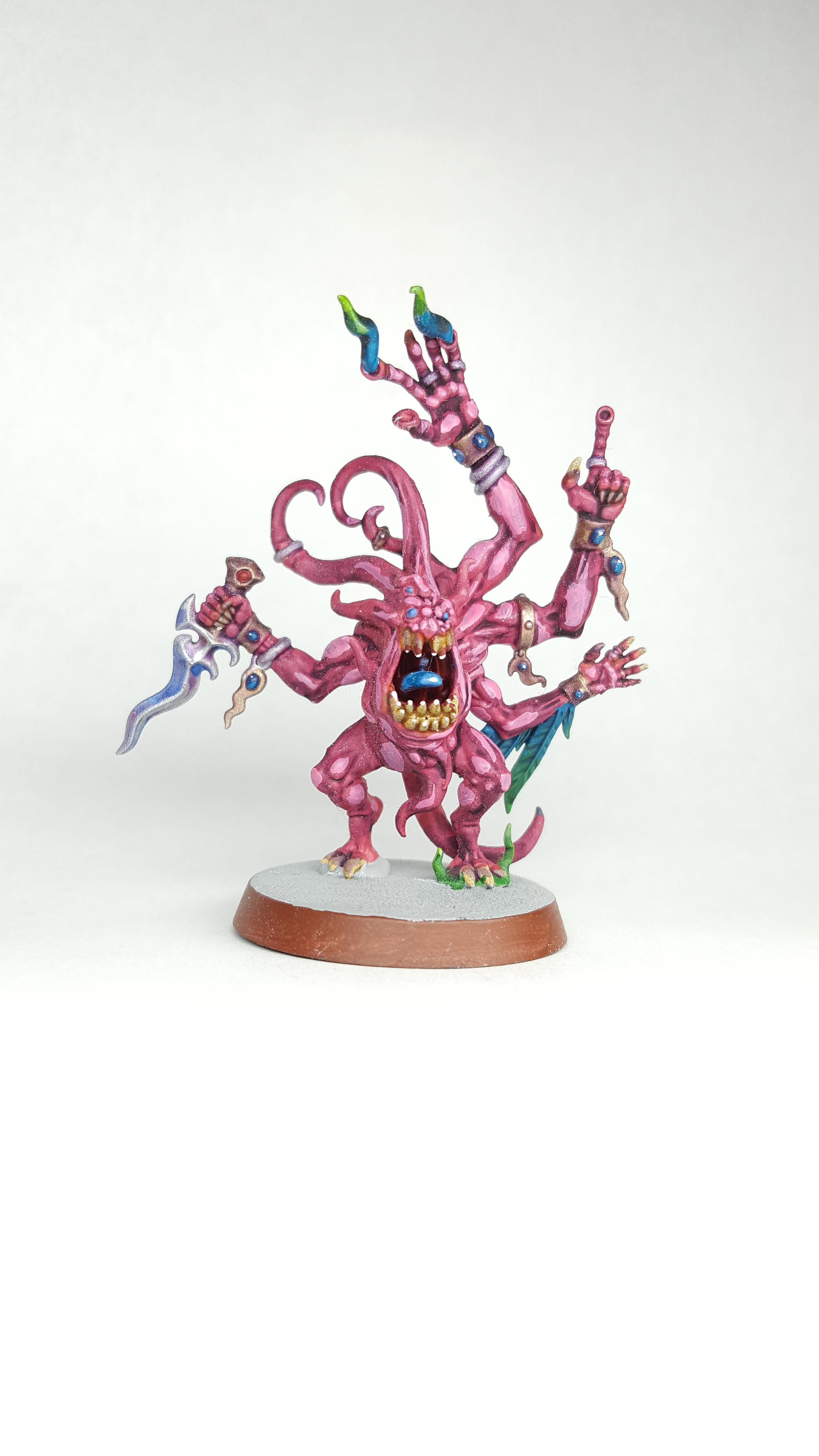 Chaos, Chaos Demon, Daemons, Games Workshop, Horrors, Pink Horror, Tzeentch, Warhammer 40,000, Warhammer Fantasy