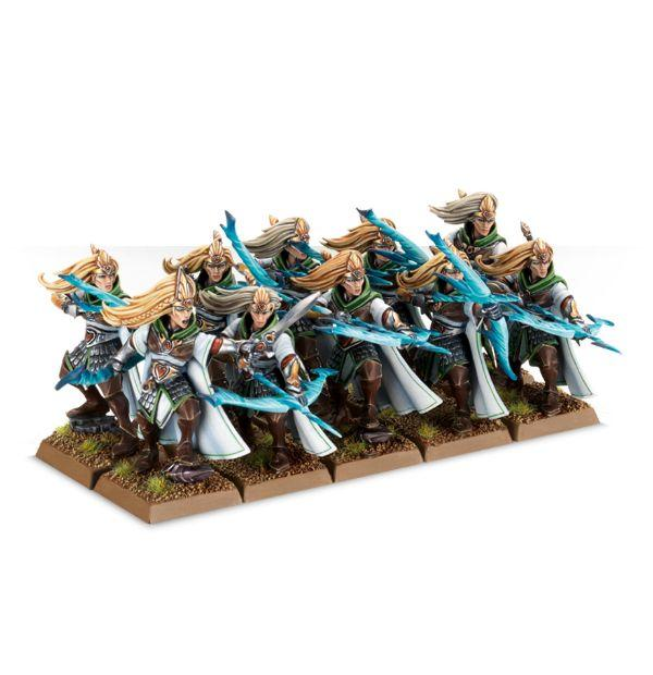Archers, High Elves, Regiment