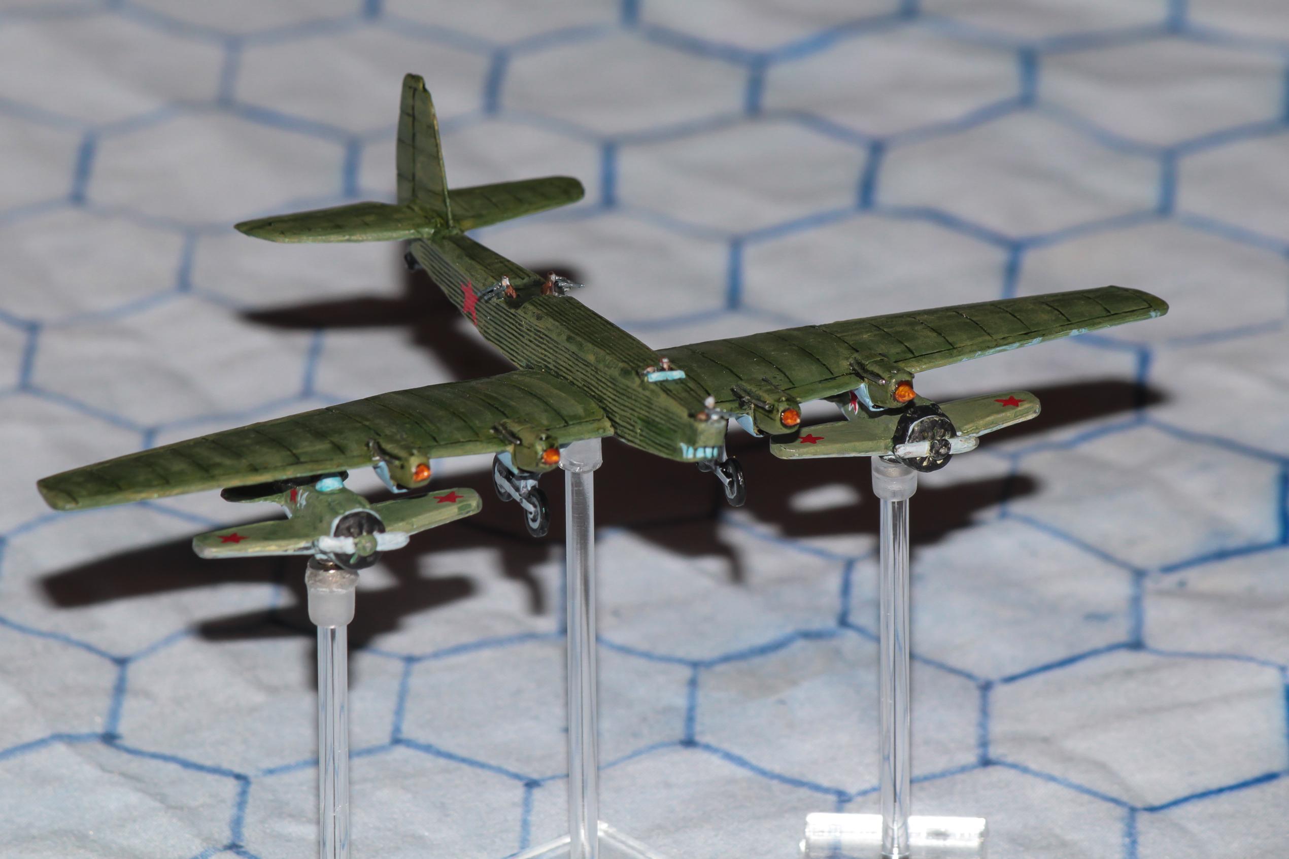 1:300 Scale, 6mm, Air Combat, Aircraft, Aviation, Fliers, Historic, Soviet, Ussr, World War 2
