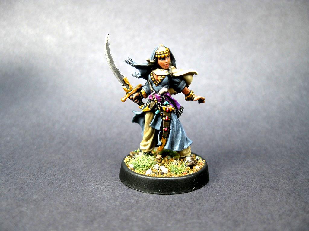 60052: Almah, Almah, Arab, Female, Merchant Princess, Reaper