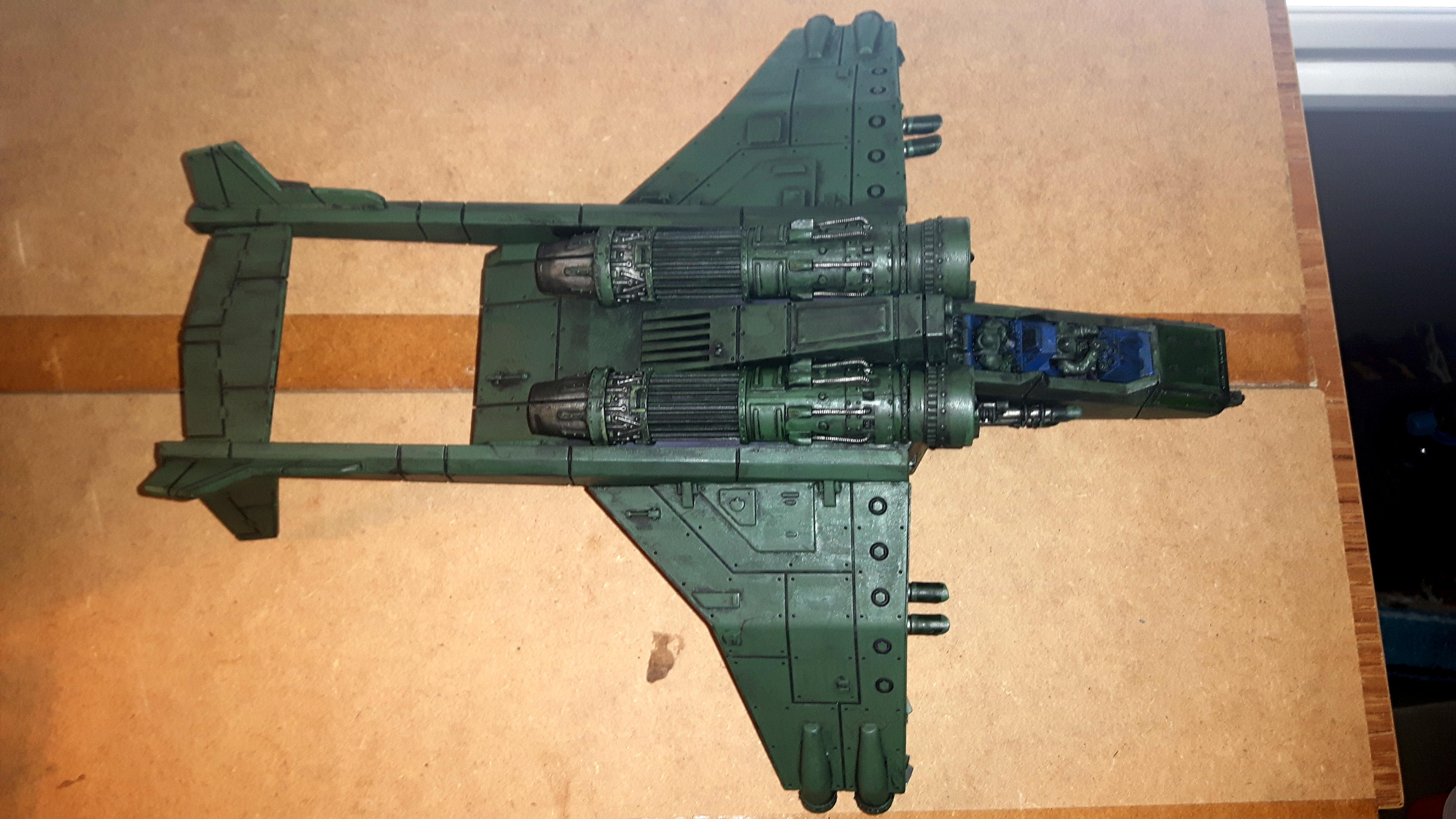 Astra Militarum, Flyer, Forge World, Imperial Guard, Resin, Valkyrie, Vendetta