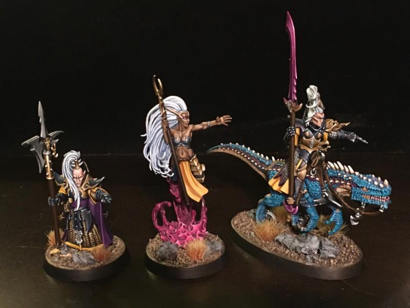 Aelves, Age Of Sigmar, Dark Elves, Druchii