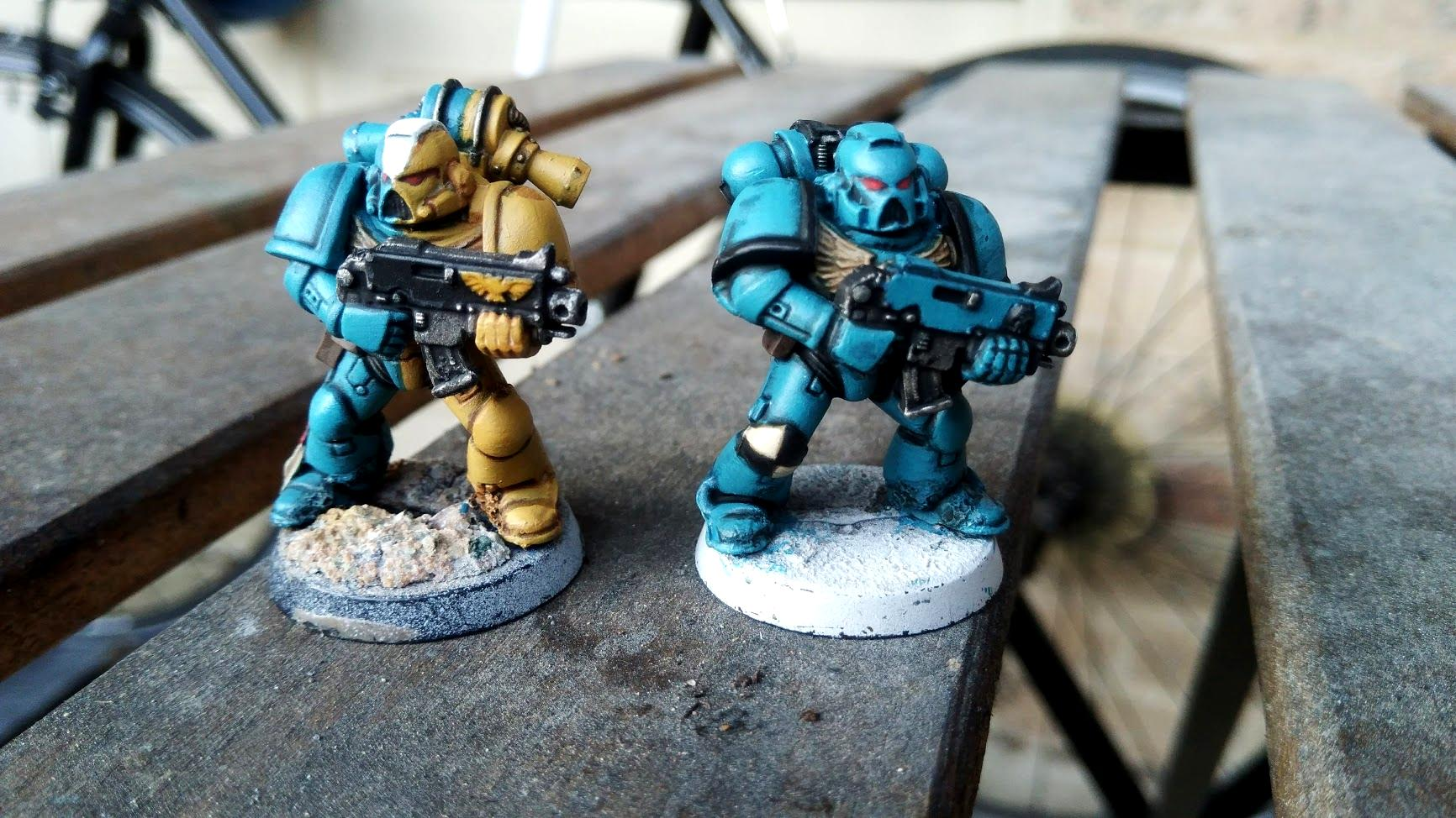 Daughters Of Persephone, Homebrew Chapter, Space Marines, Tactical Squad, Unicorns