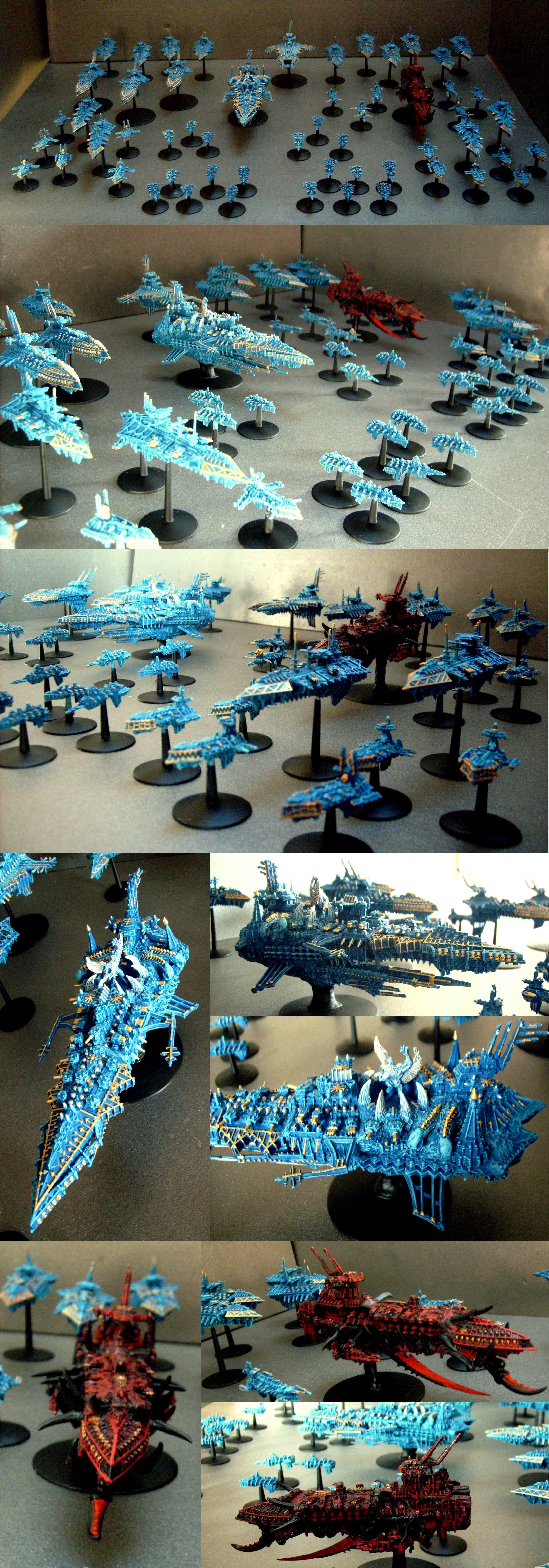 Battlefleet Gothic, Battleship, Chaos, Cruiser, Daemons, Daemonship, Fleet, Gothic, Iron Warriors, Tzeentch, Vessels
