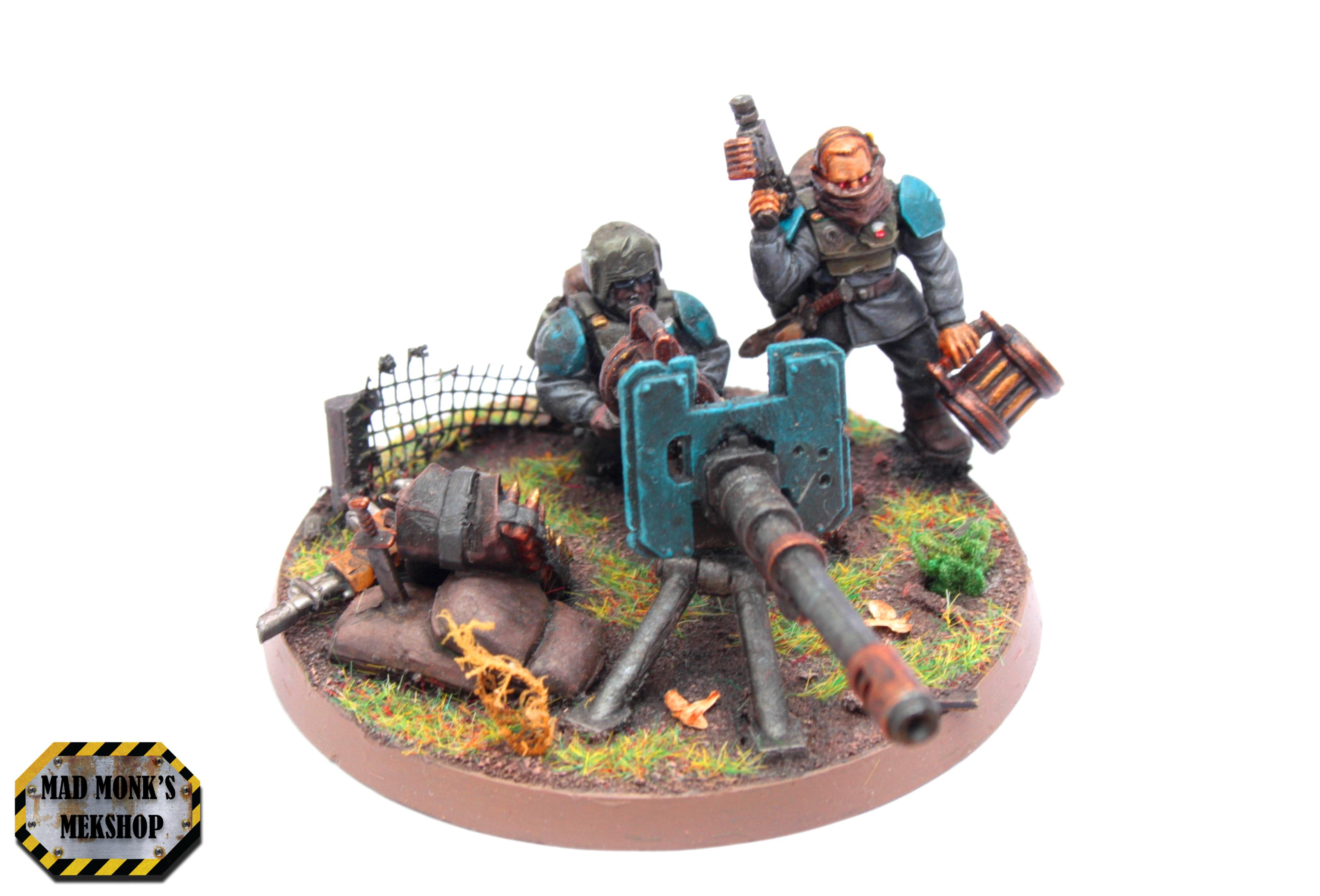 Cadians, Heavy Weapon, Imperial Guard, Infantry, Lascannon