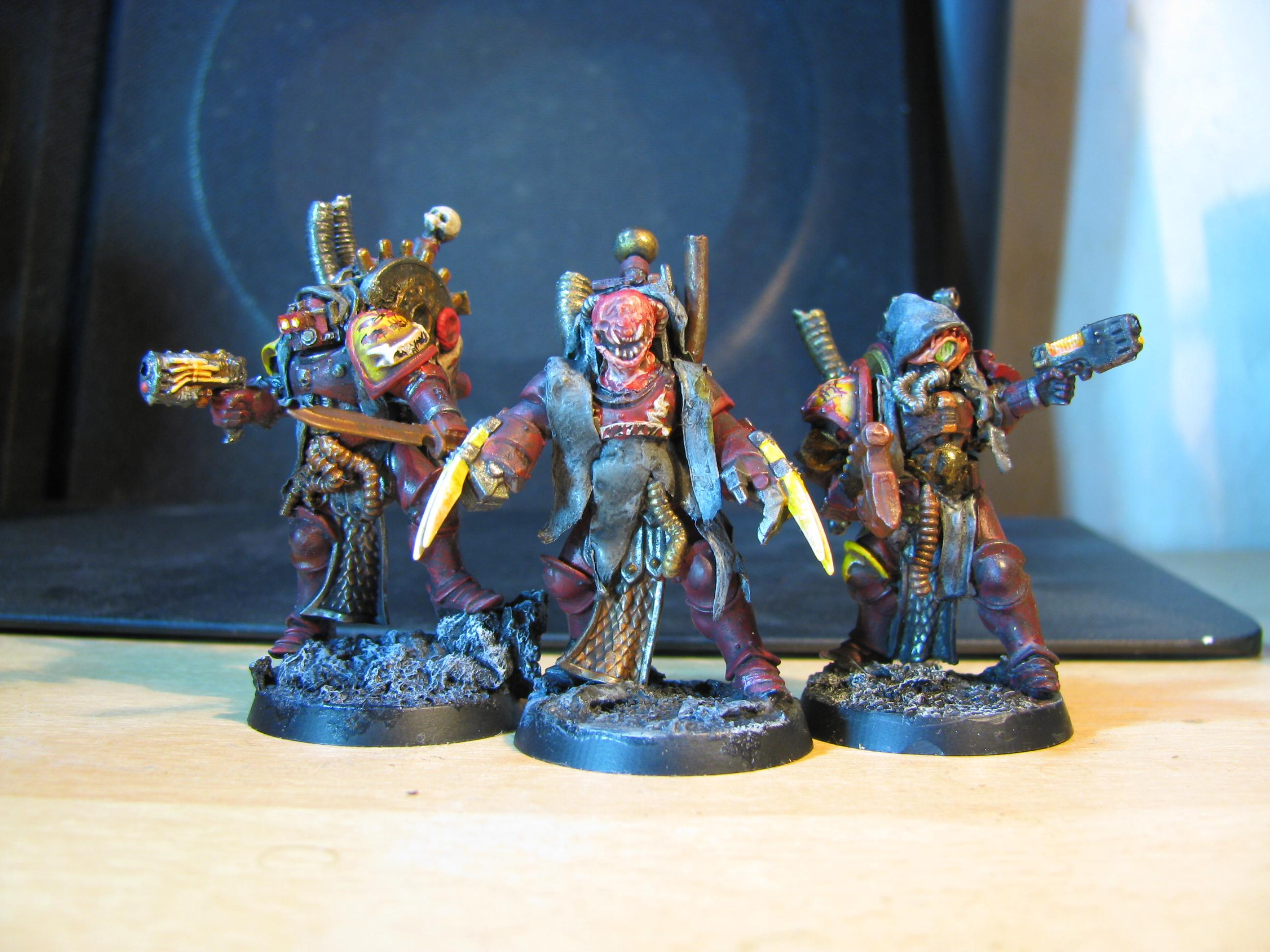 Chaos, Conversion, Dark Mechanicus, Sigmarines