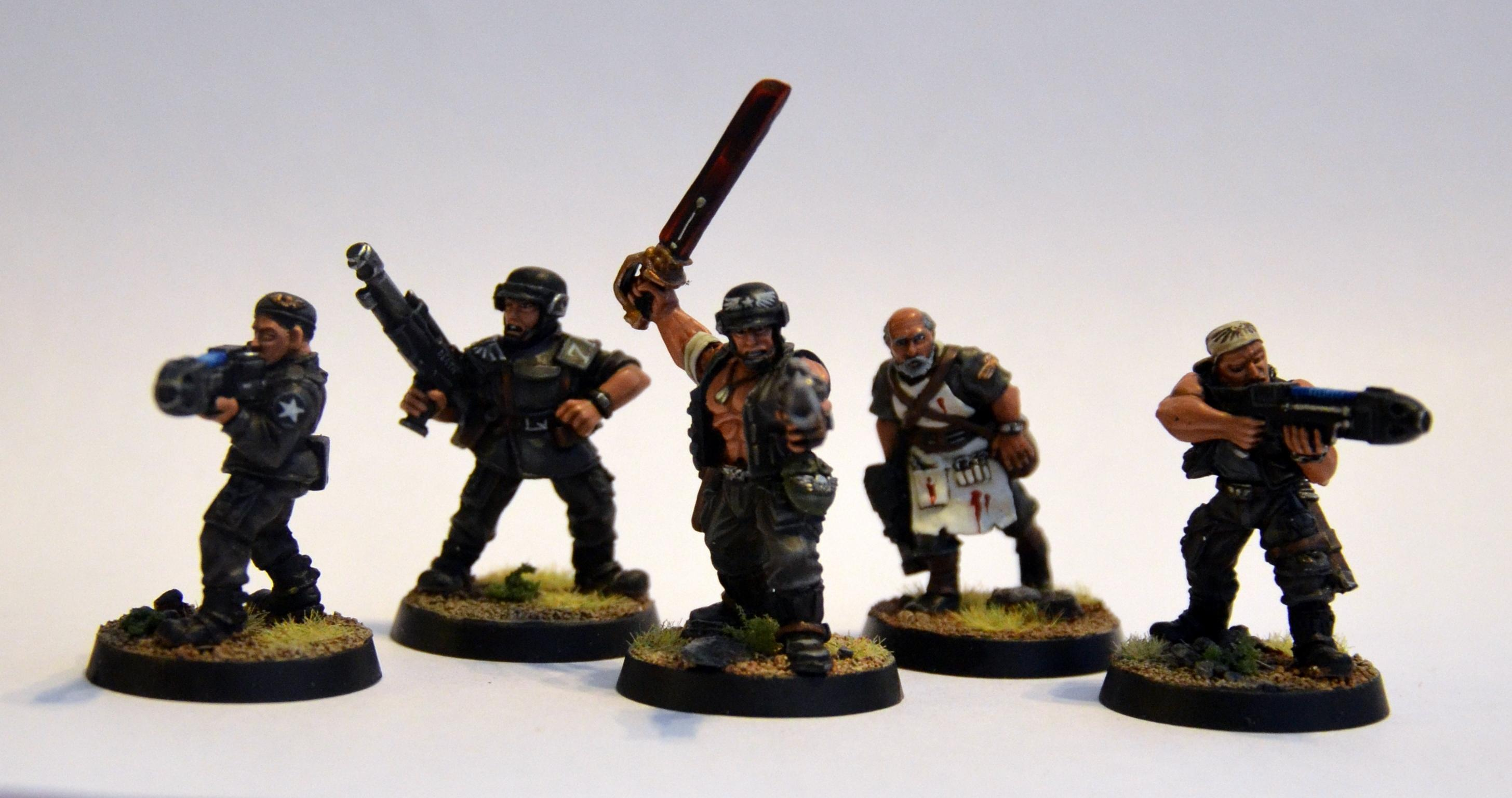 Astra Militarum, Cadians, Imperial Guard, Warhammer 40,000