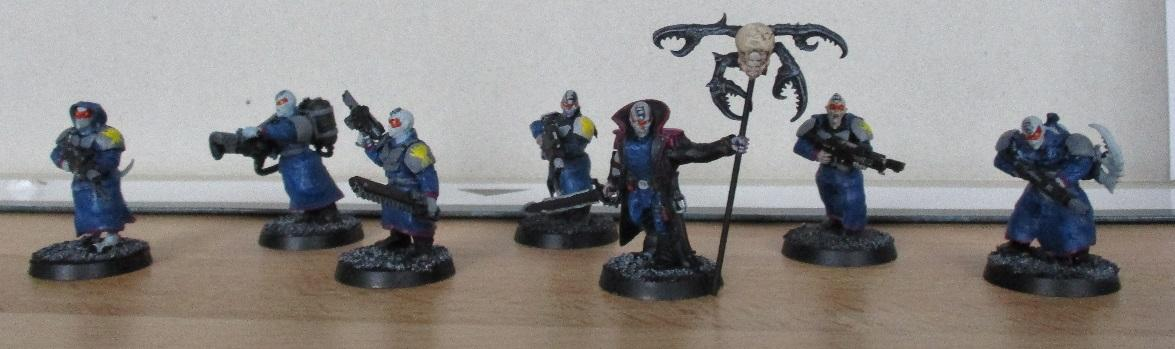 Astra Militarum, Chaos Cultists, Conversion, Daemonettes, Games Workshop, Genstealer Cult, Imperial Guard, Warhammer 40,000