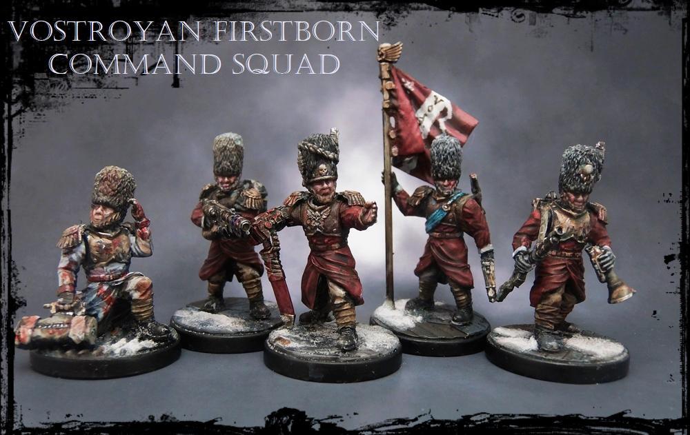 Alternative Guard Models, Anvil Industries, Command Squad, Imperial Guard, Regiments, Vostroyan