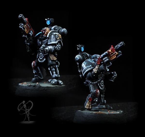Deathwatch, Iron Hands, Non-Metallic Metal, Overkill, Space Marines