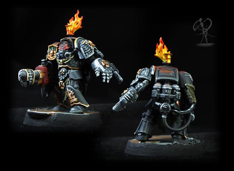 Deathwatch, Non-Metallic Metal, Overkill, Salamanders, Space Marines
