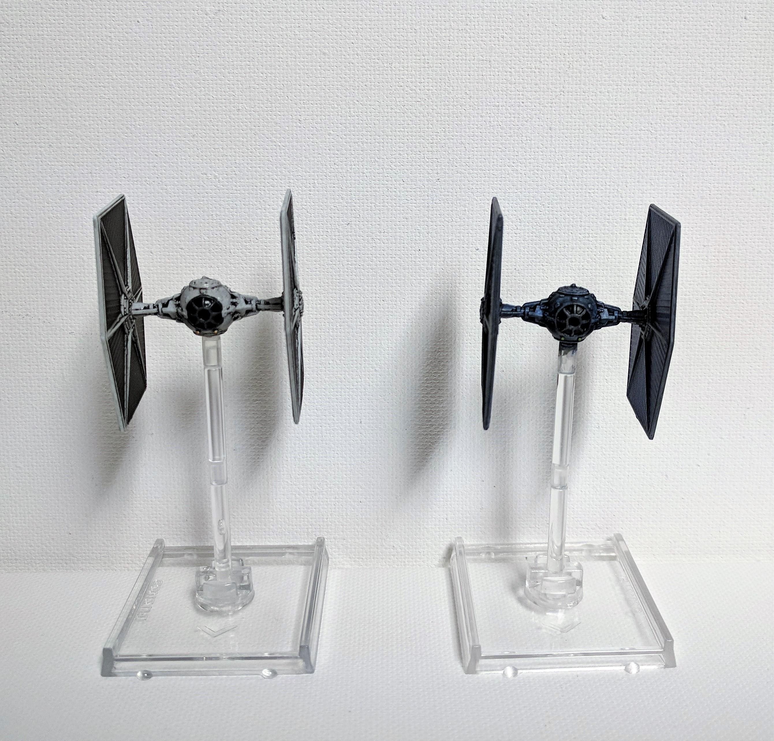 Conversion, Custom, Repaint, Tie Fighter, X-Wing