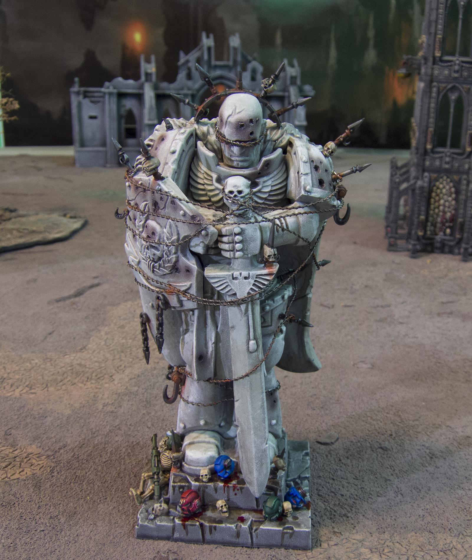 Chaos, Defiled, Honoured Imperium, Marine Abuse, Space Marines, Statue