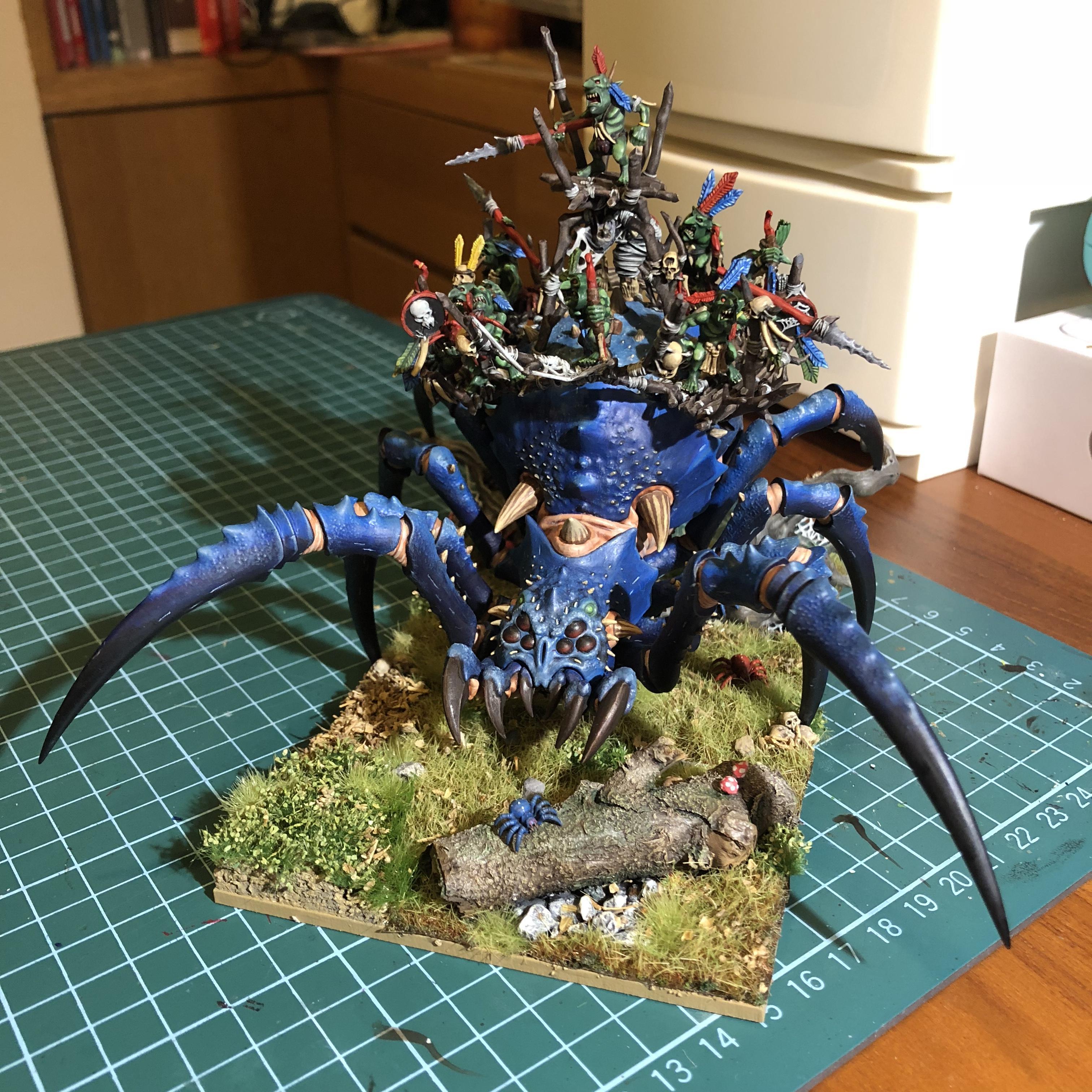 Goblins, Spider, Warhammer Fantasy