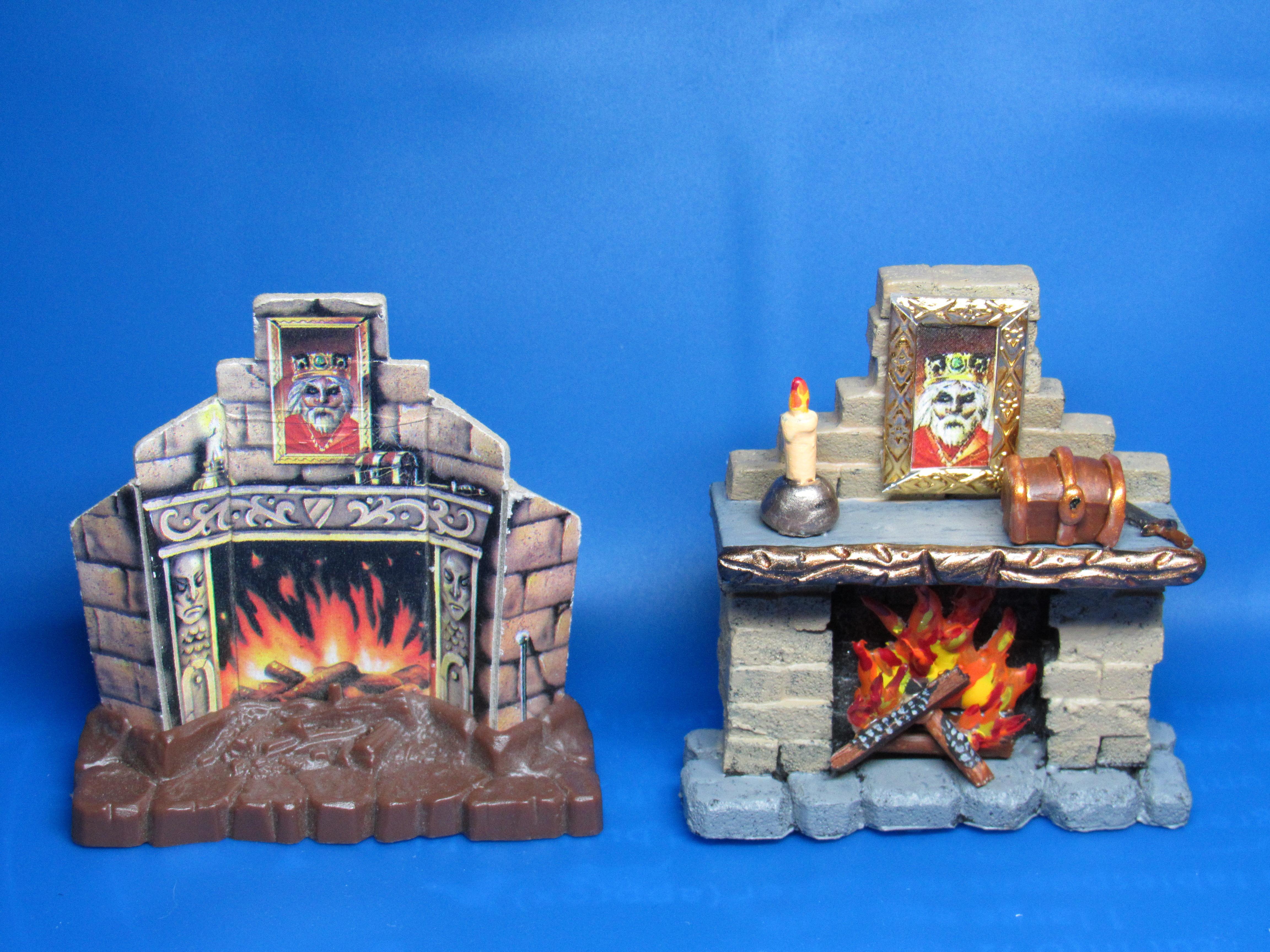 Hero Quest, Fireplace