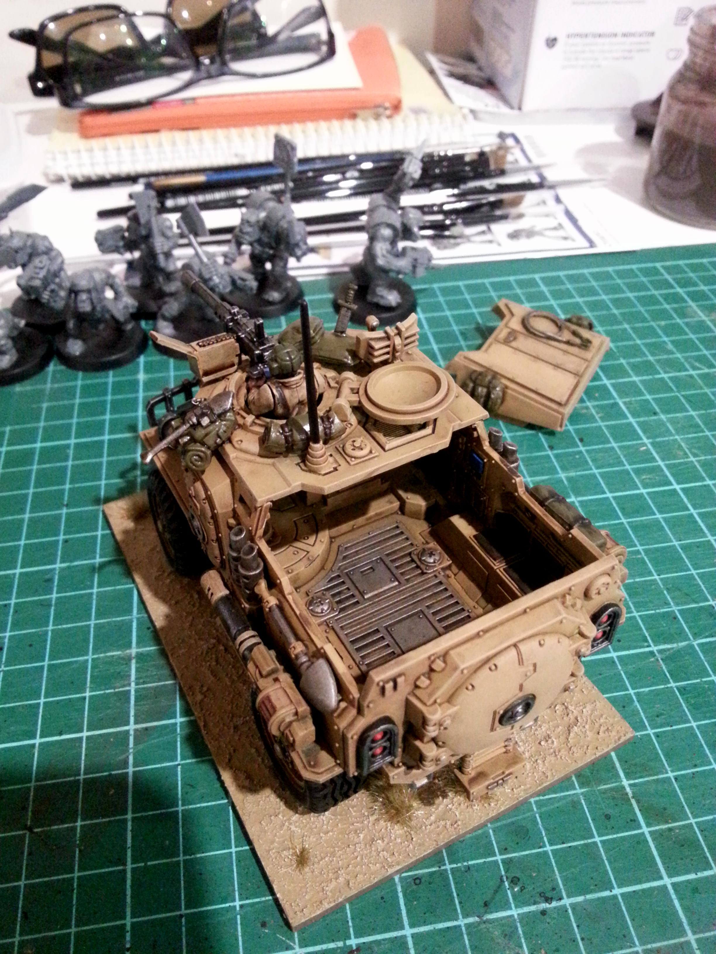 Imperial Guard, Imperial Guards, Taurox, Transport