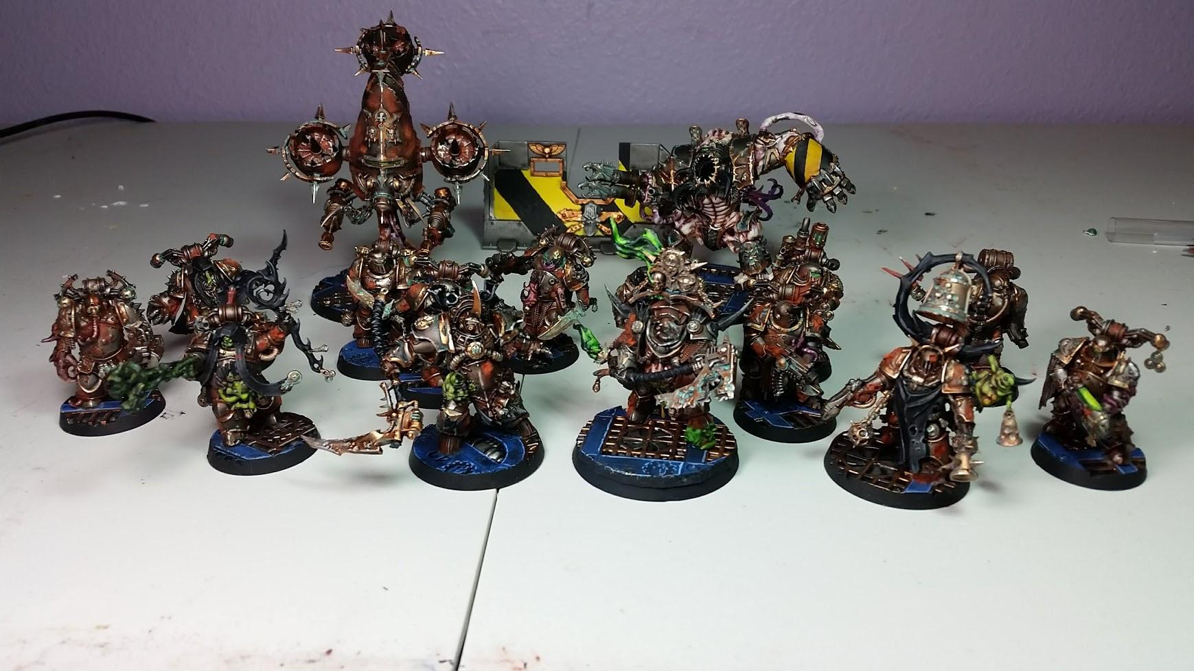 Chaos Space Marines, Death Guard, Rust