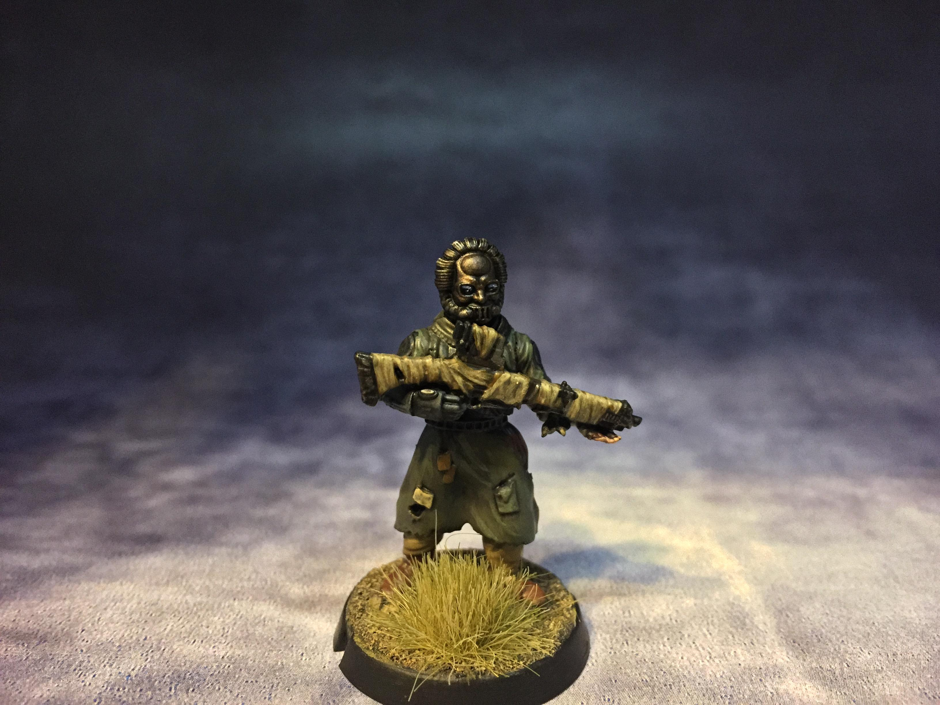 Barbarian, Broken, Forstgrave, January 2018, Kitbash, Maelstrom's Edge, Post-apoc, Postapocalyptic, Spiral Arms
