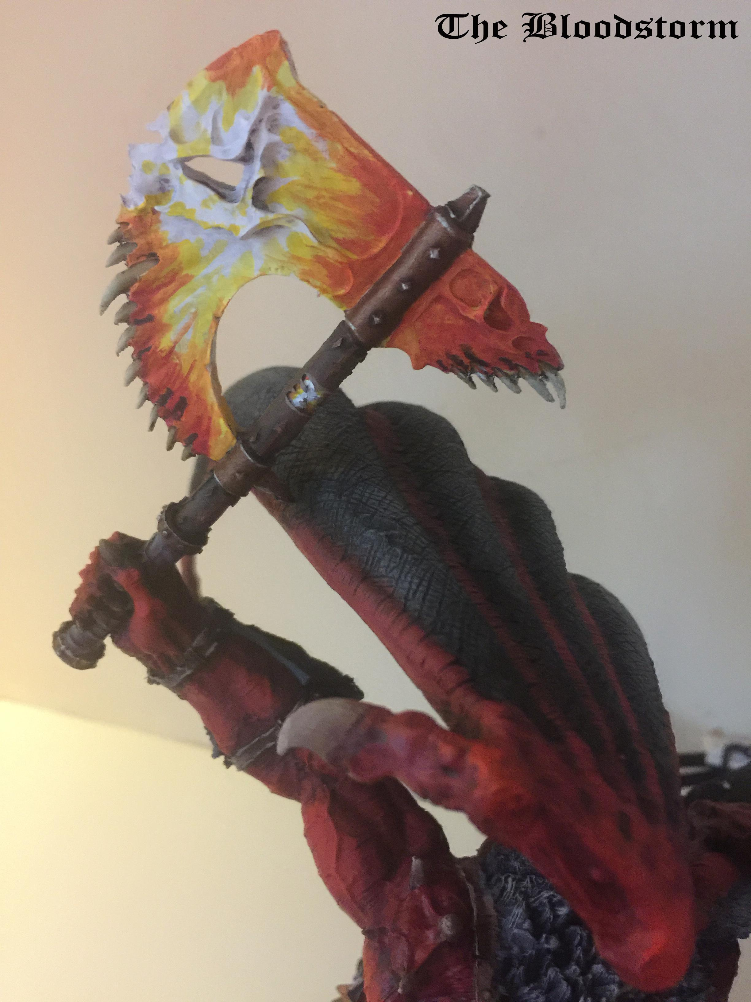 An'ggrath, Bloodthirster, Chaos Daemons, Conversion, Daemon Lord, Forge World, Gargantuan Creature, Greater Daemon, Khorne, Warhammer 40,000