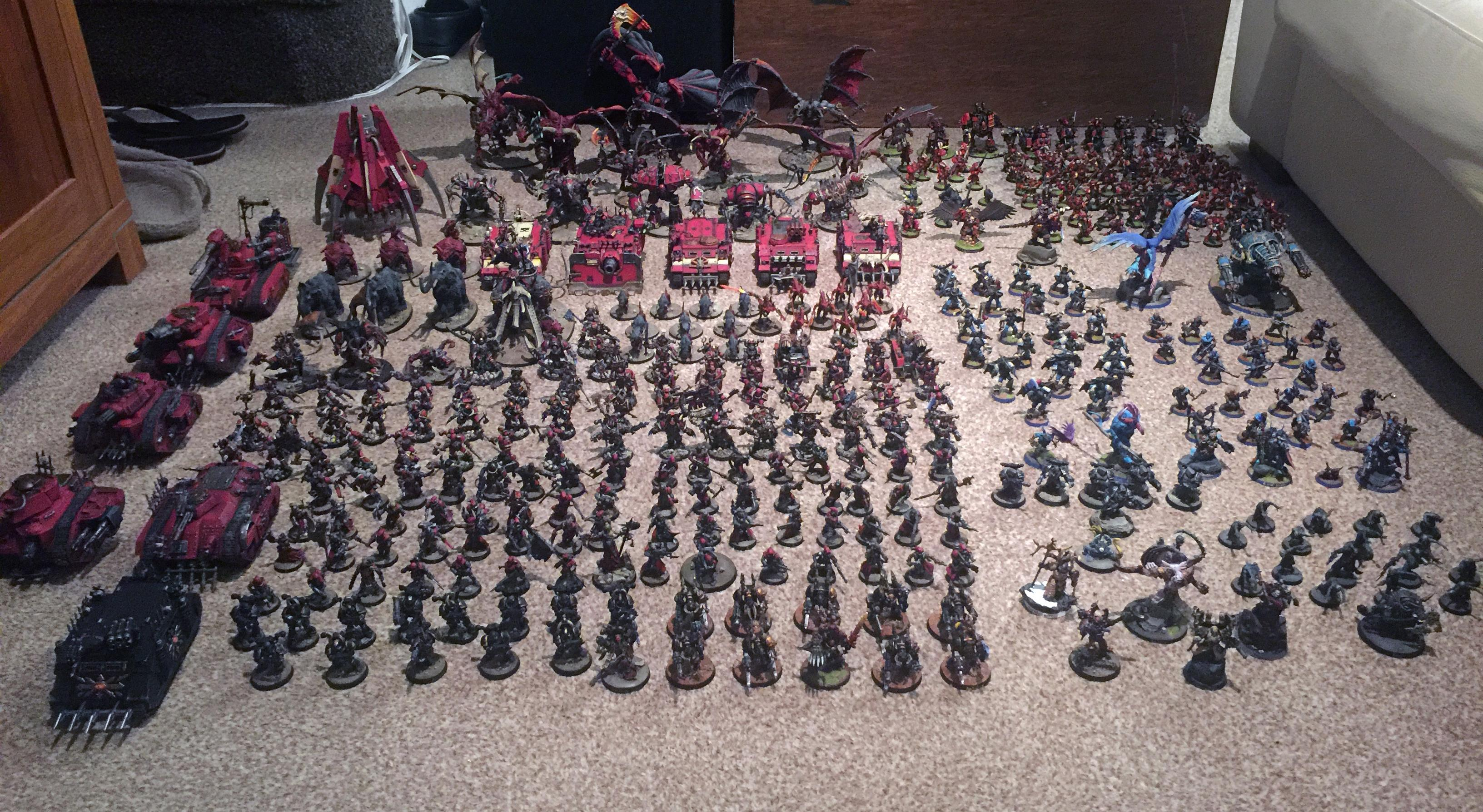 Abaddon The Despoiler, Apocalypse, Army, Chaos Daemons, Chaos Space Marines, Chaos Undivided, Khorne, Lost And The Damned, Renegades, Tzeentch, Warhammer 40,000
