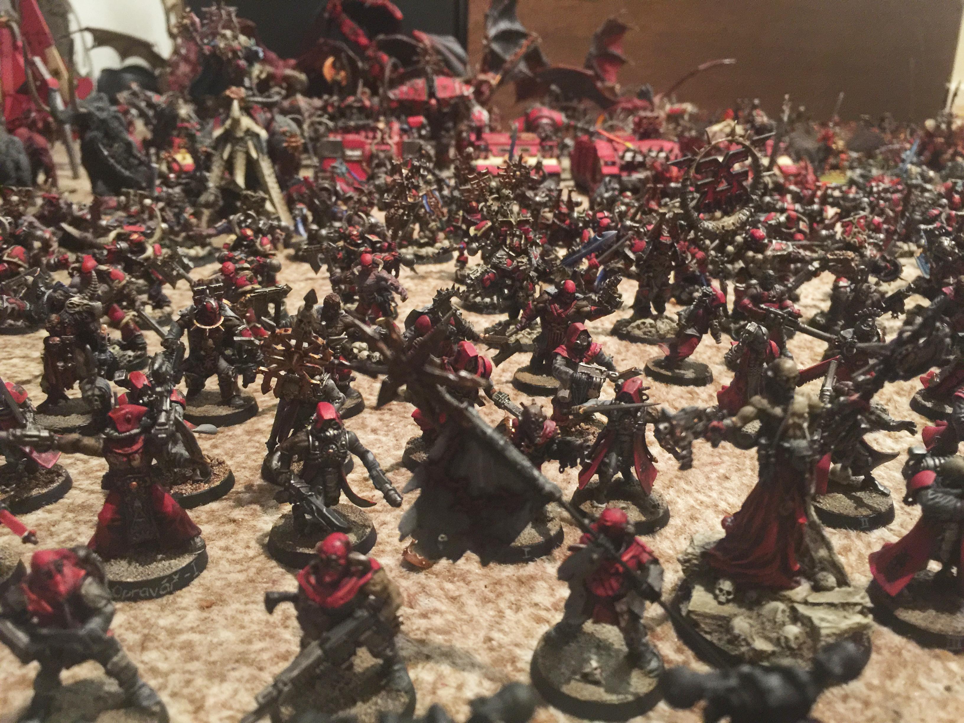 Abaddon The Despoiler, Apocalypse, Army, Chaos Daemons, Chaos Space Marines, Chaos Undivided, Khorne, Renegades, Tzeentch, Warhammer 40,000