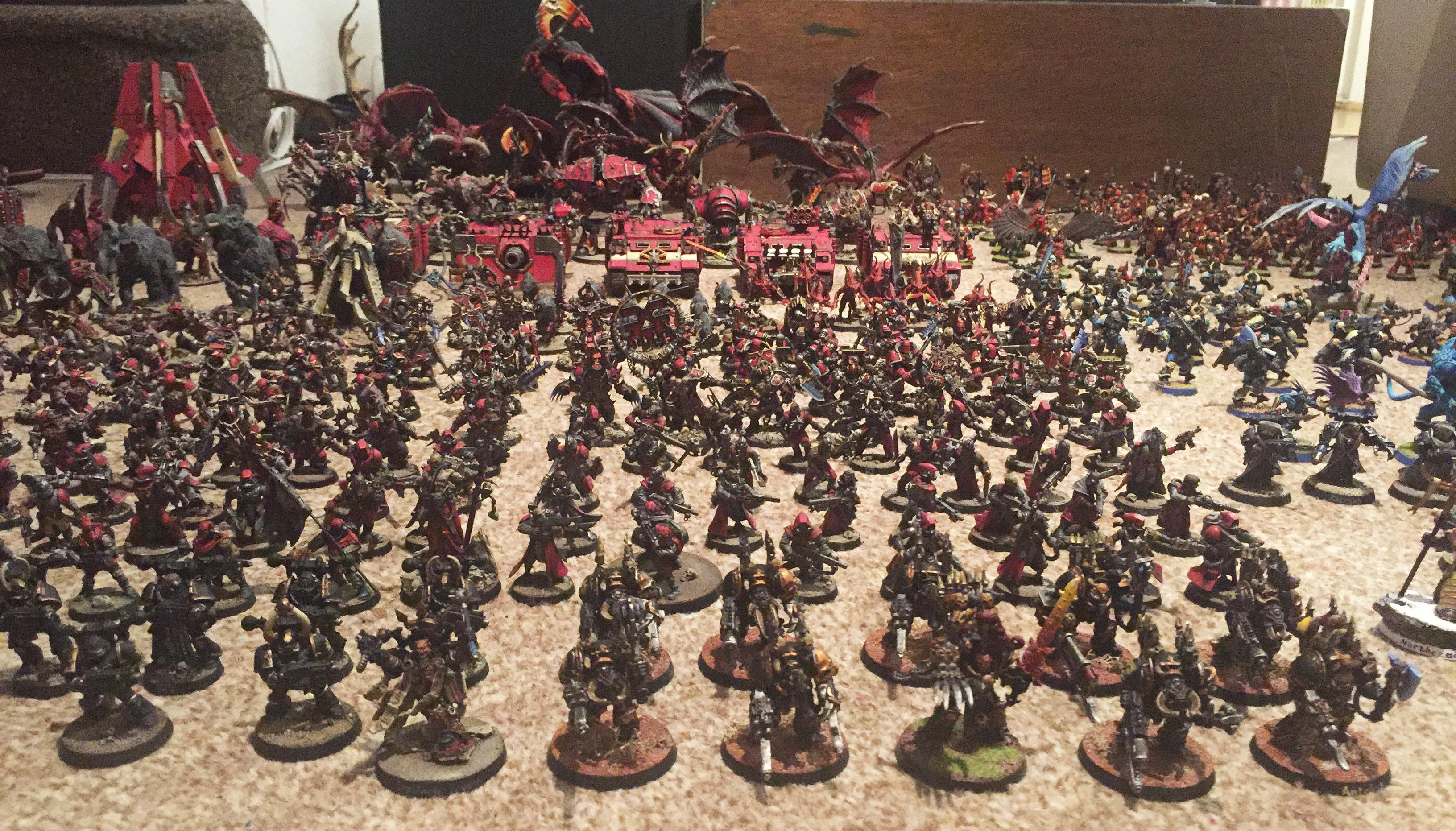 Abaddon The Despoiler, Apocalypse, Army, Chaos Daemons, Chaos Space Marines, Chaos Undivided, Khorne, Renegades, Tzeentch, Warhammer 40,000