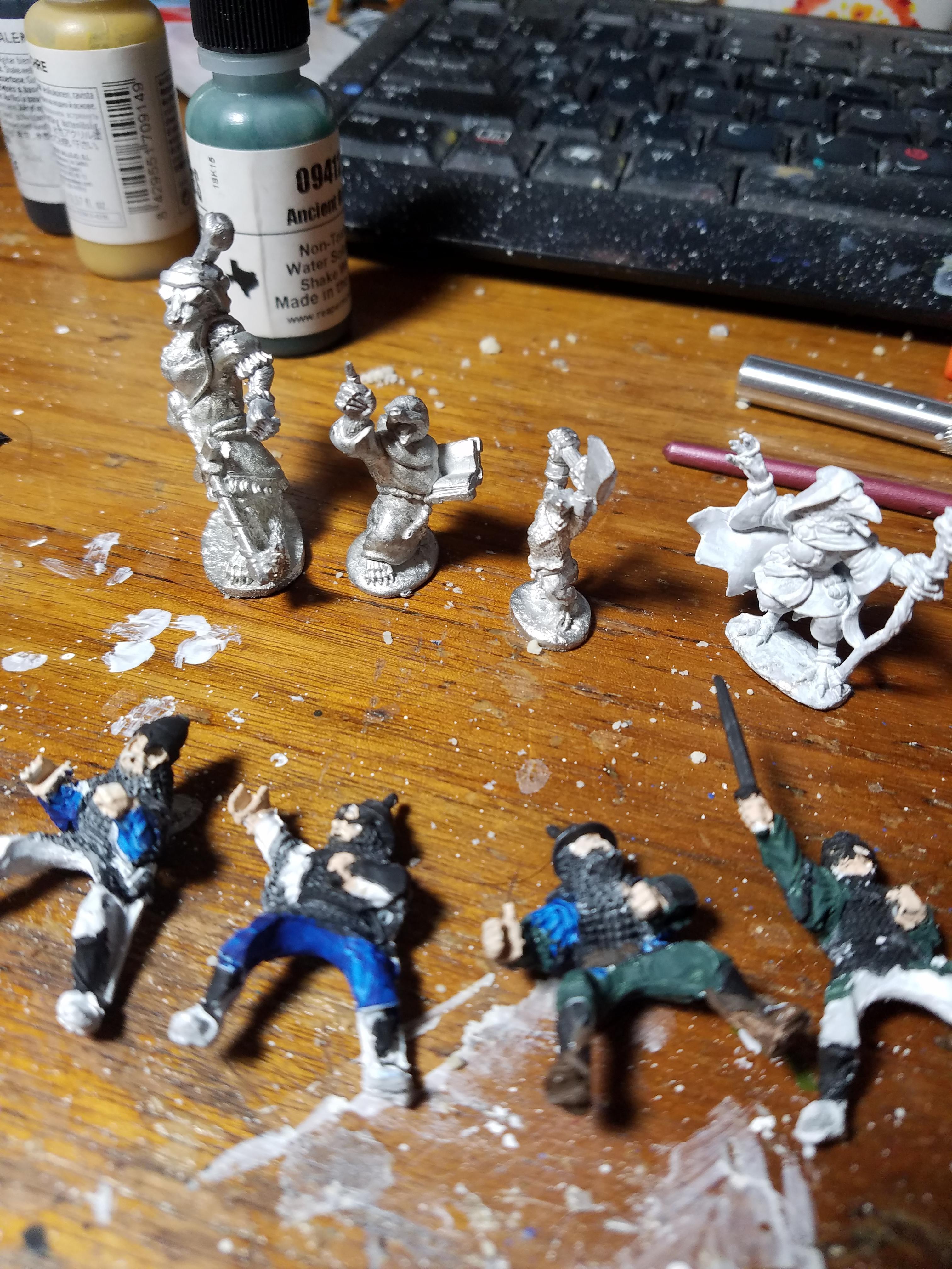 Adventurers, Fireforge, Furry, Oathsworn, Reaper, Work In Progress