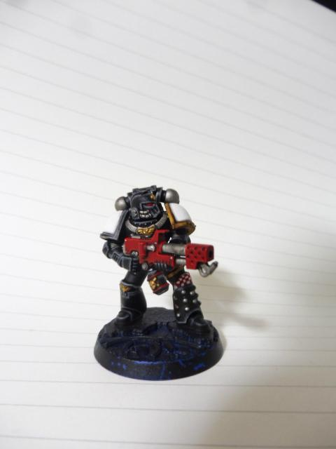 Assault, Assault Marines, Black, Black Templars, Blanche, Chainsword, Conversion, Flamer, Forge World, Imperium, Japan Exclusive, Space Marines, Sternguard, Tactical Squad, Templars, Terminator Armor, Veteran