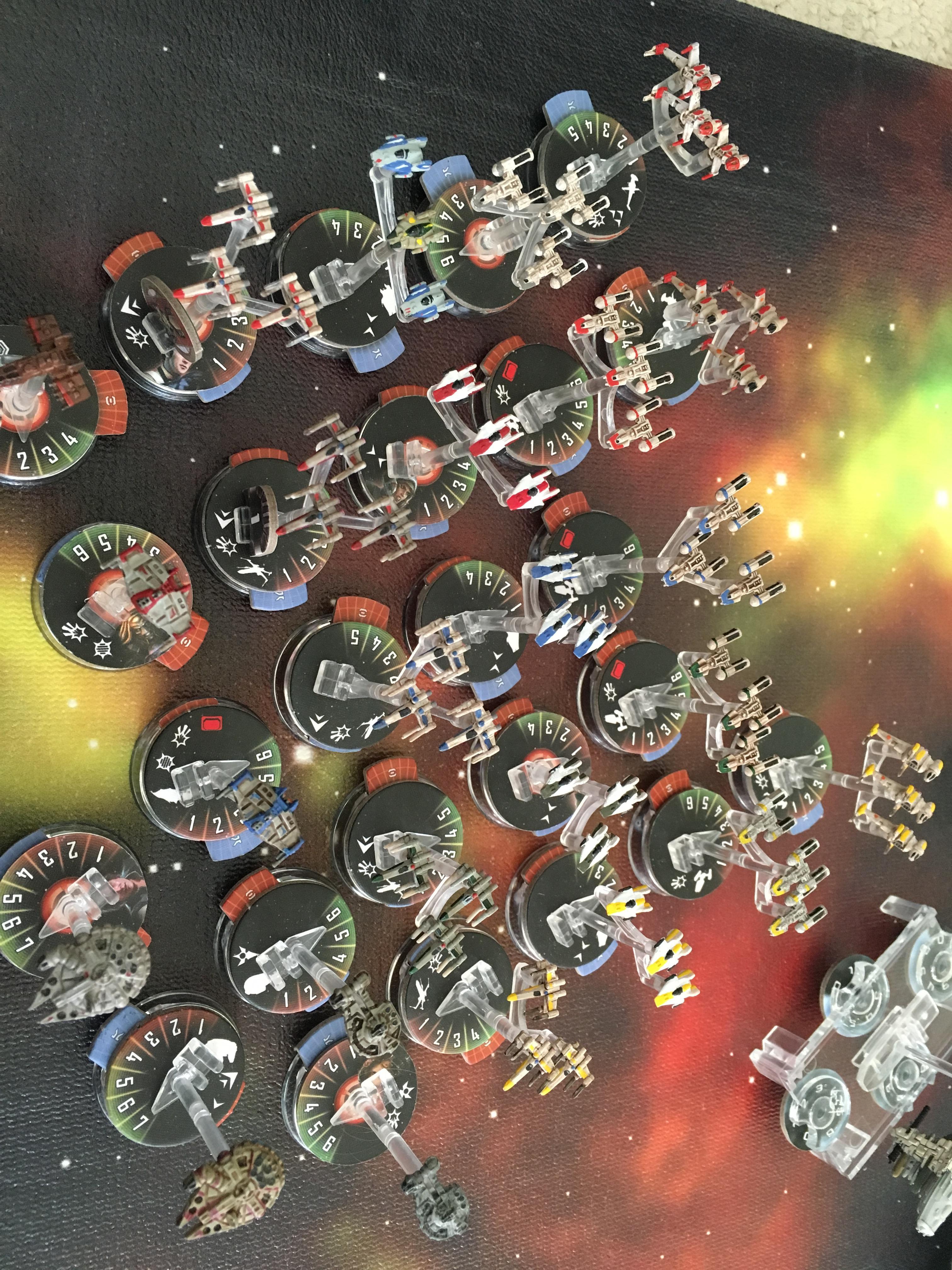 Armada, Star Wars, X-Wing