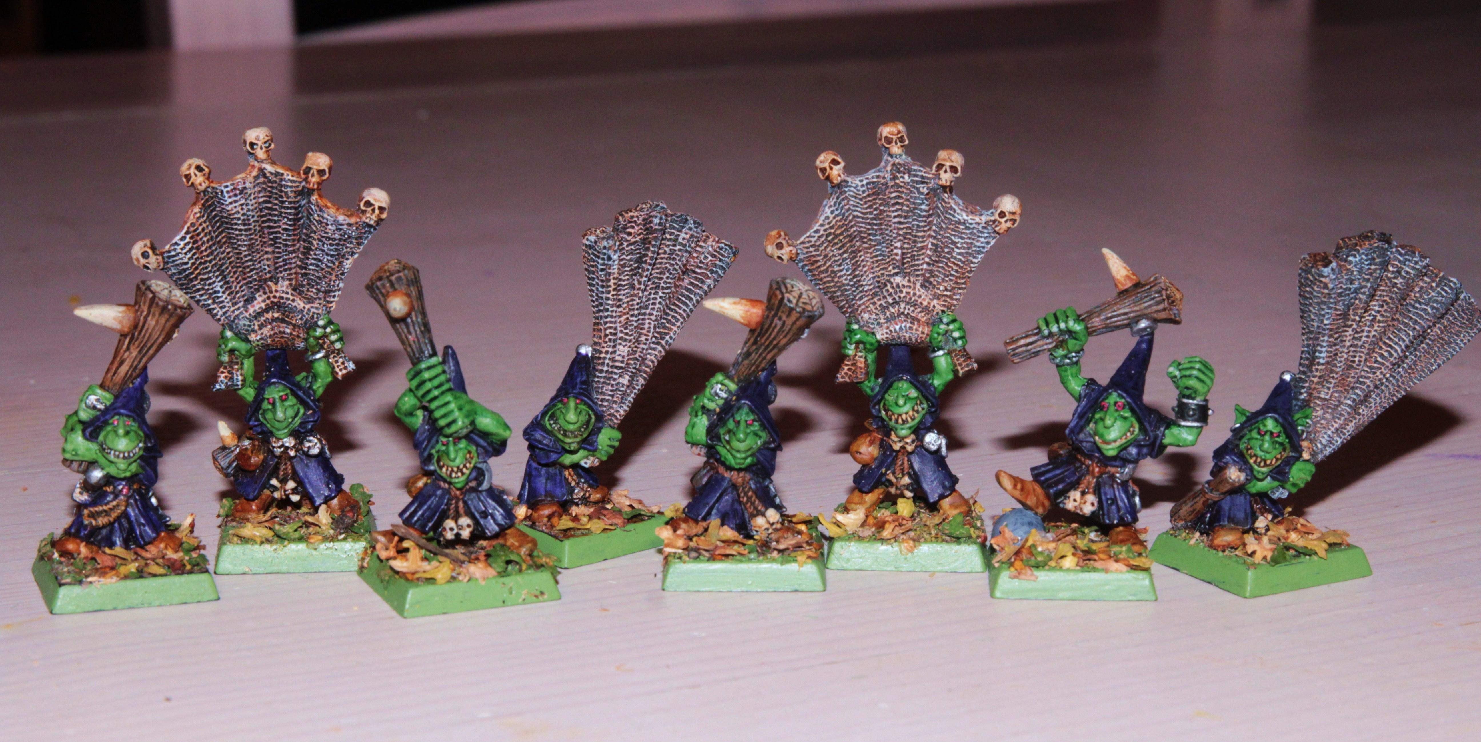 Clubbers, Netters, Night Goblins, Oldhammer, Warhammer Fantasy, Wfb