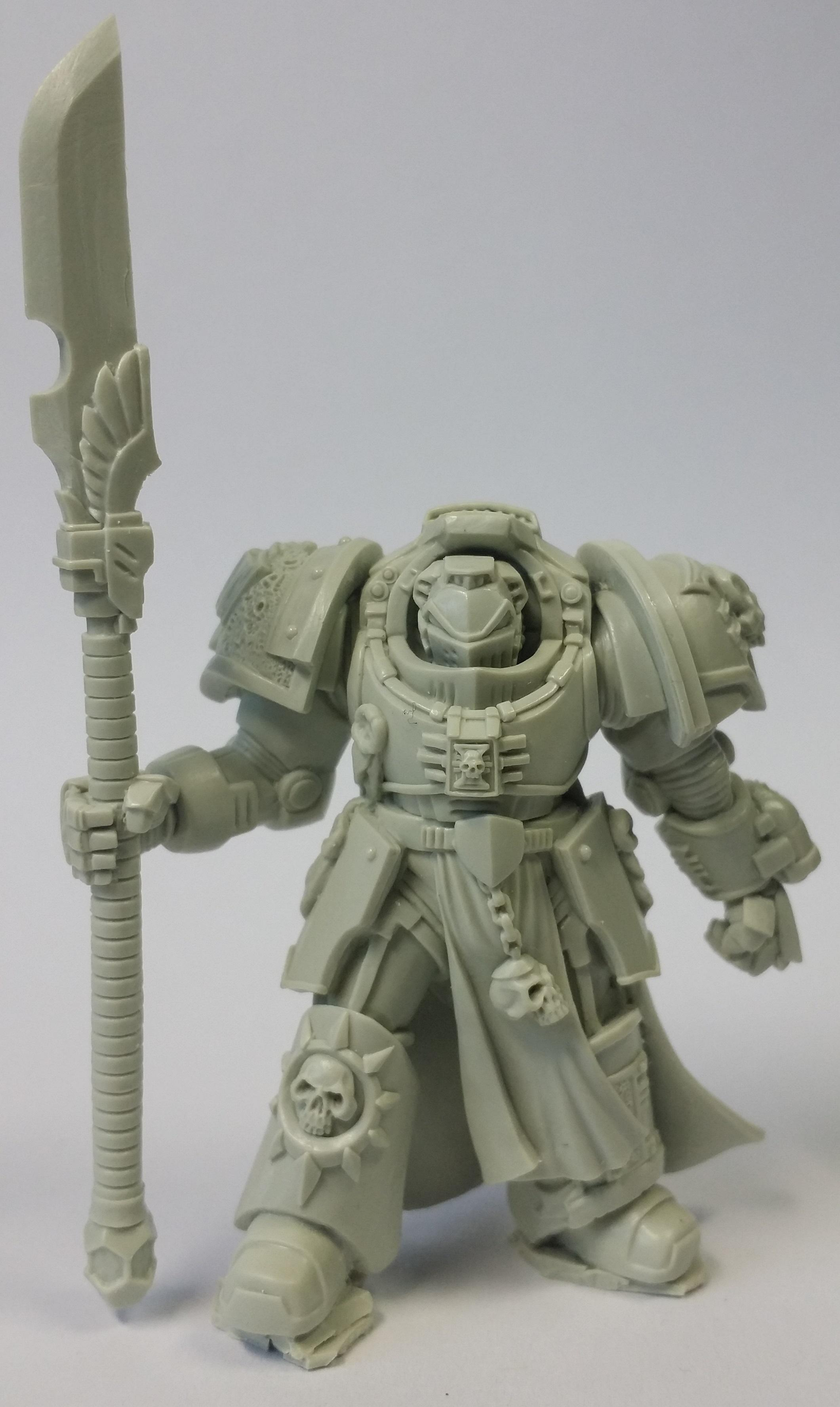 True Scale Terminator Silver Grey Knight Daemonhunter