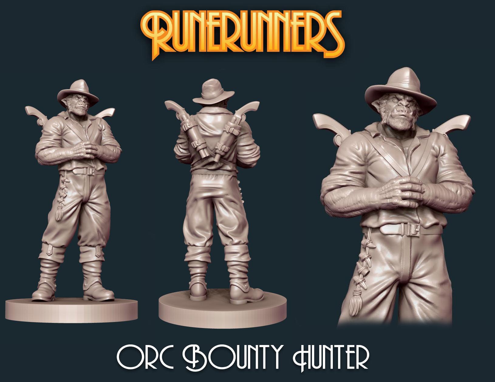 Orc Bounty Hunter